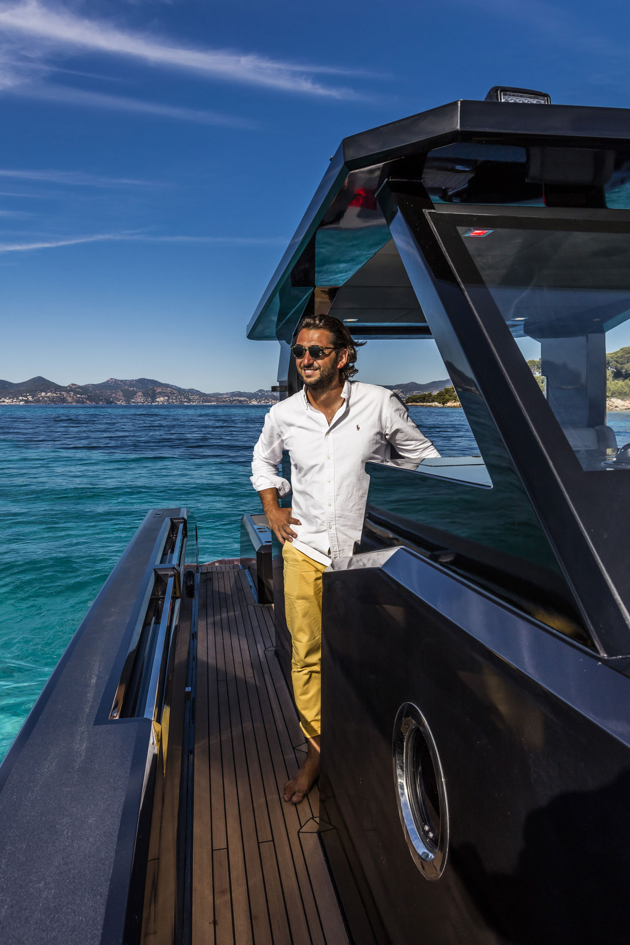 Mazu Yachts' CEO Halit Yukay.Photo © Mazu Yachts.