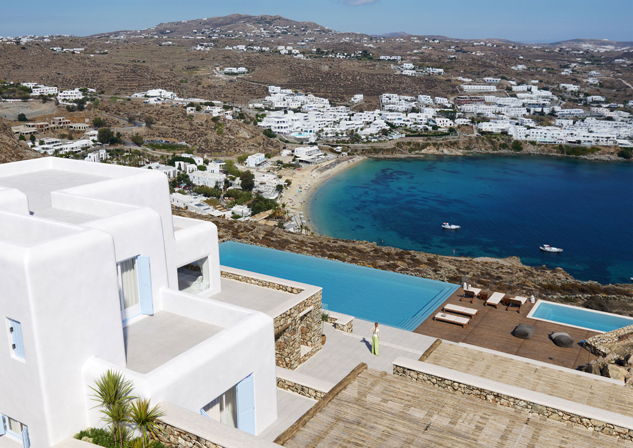 Villa Nammos, Agios Lazaros, Mykonos. Photo © Kinglike Concierge.