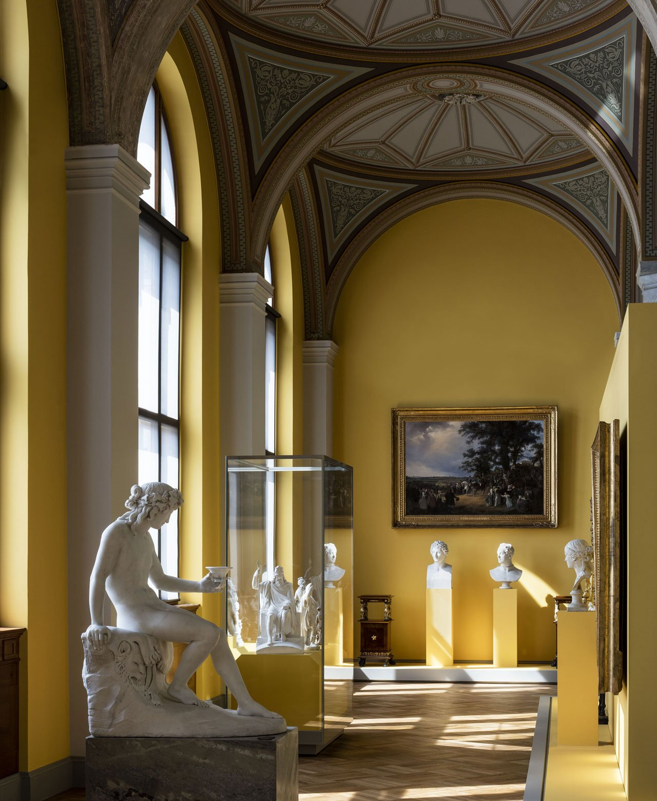 Nationalmuseum interior view. Photo by Bruno Ehrs.