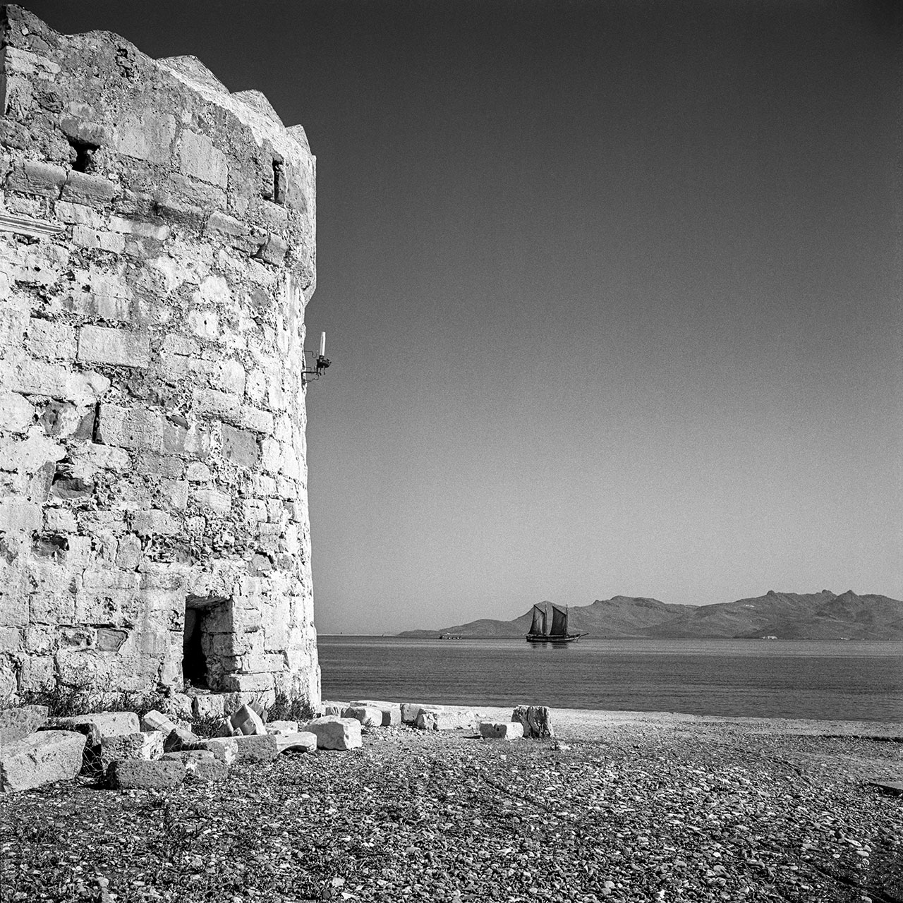 Kos, the Castle of the Knights 1954. Photo © Robert McCabe.