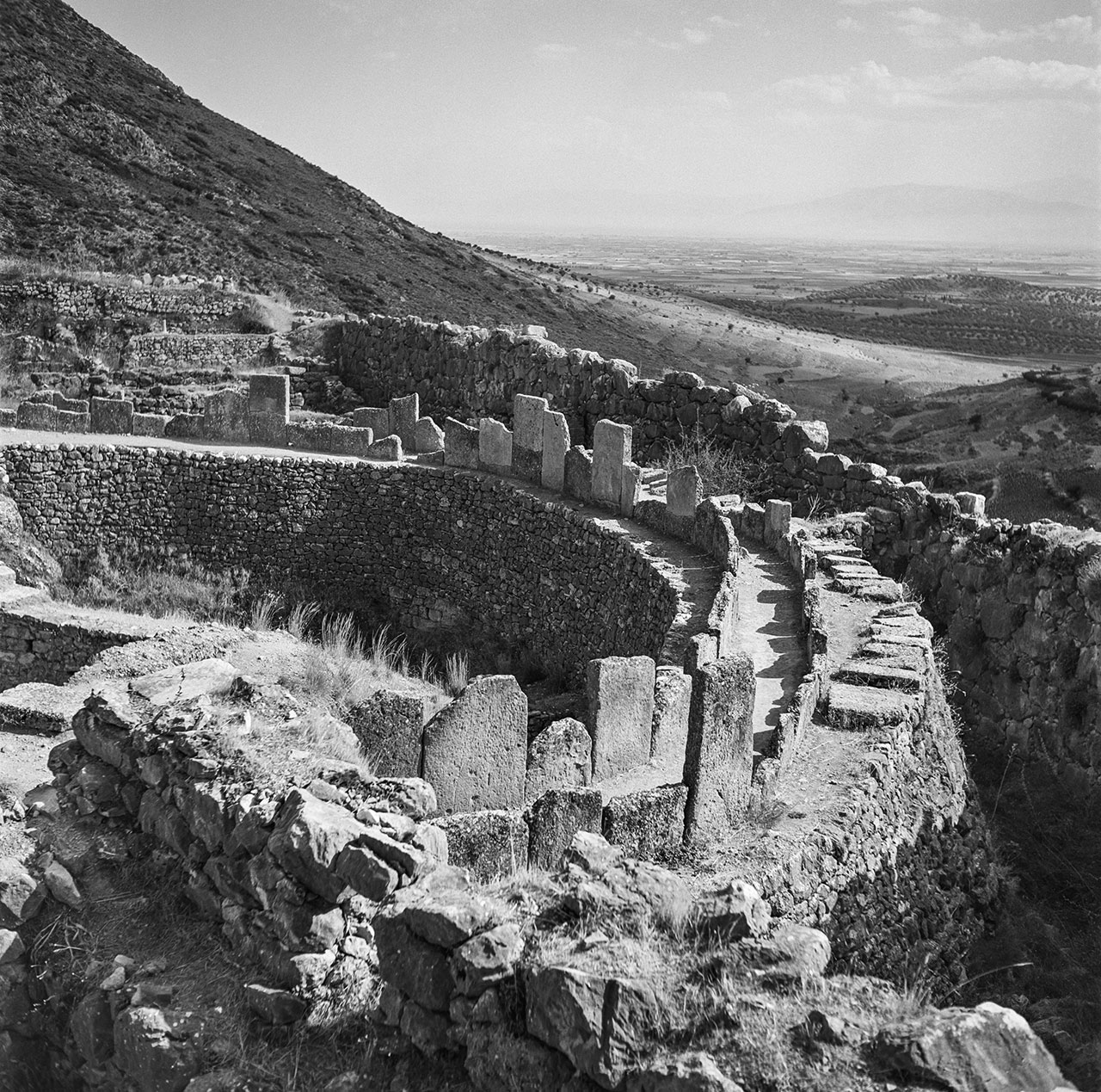 Mycenae 1955. Photo © Robert McCabe.