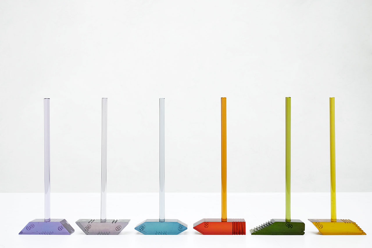 Rabih Geha, Haminals. Resin. Available colors: Red, Yellow, Green, Blue, Purple, Grey. 18.2 x 6.4 x 46.2cm.