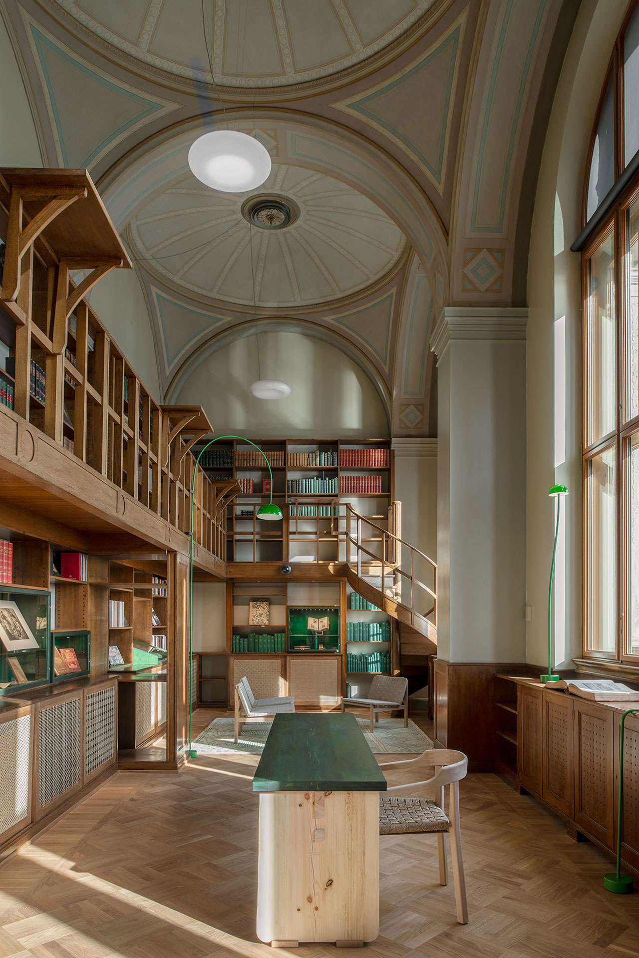 Nationalmuseum Old Library, interior design by Emma Olbers. Photo by Andy Liffner.
