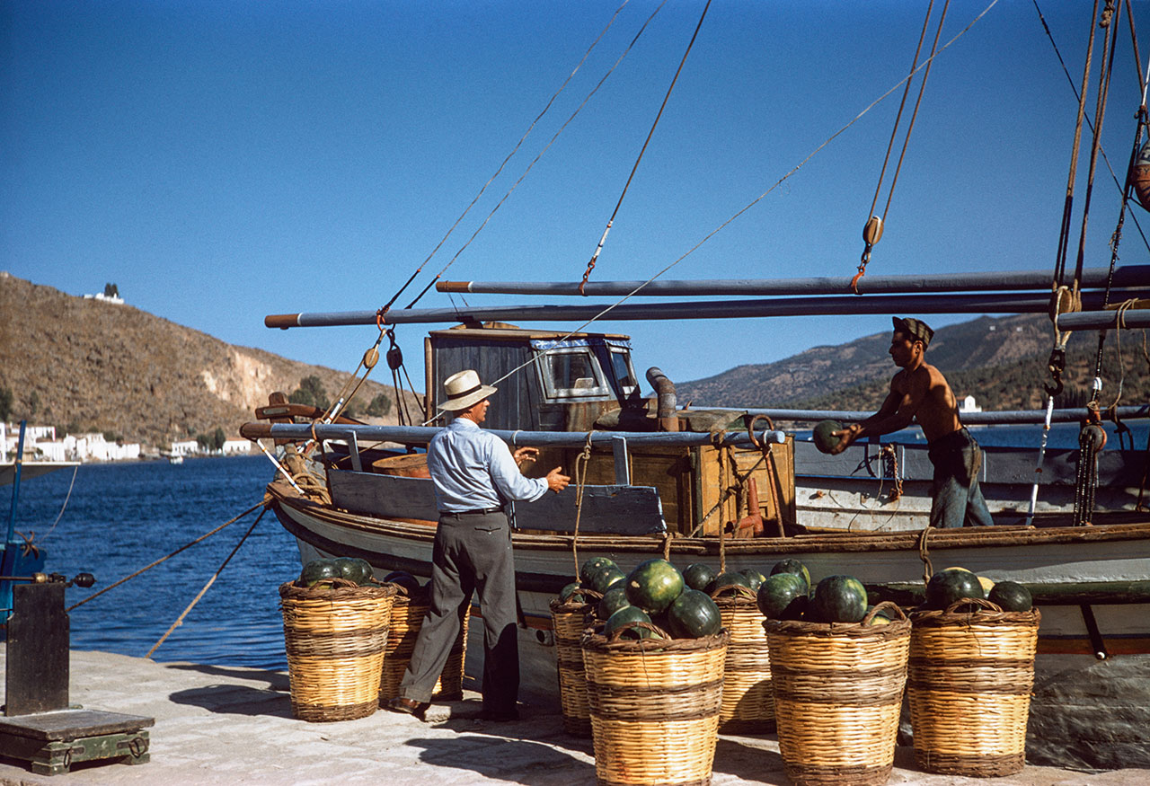 Poros 1957. Photo © Robert McCabe.