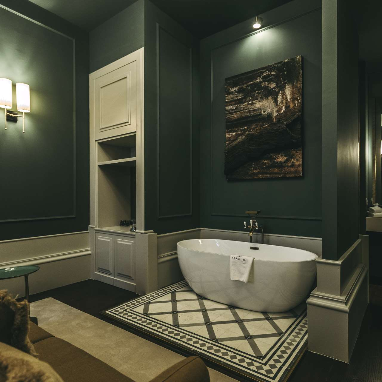 """The Americas-themed """"Exotic woods"""" suite. Photo byLuís Ferraz."""