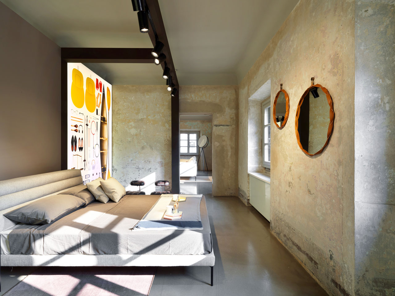 'Zanotta:Stories', exhibition in Milan, 2017-2018, inpartnership withTecno.Exhibition designbyCalvi Brambilla. PhotoAndrea Martiradonna. Courtesy of Zanotta.