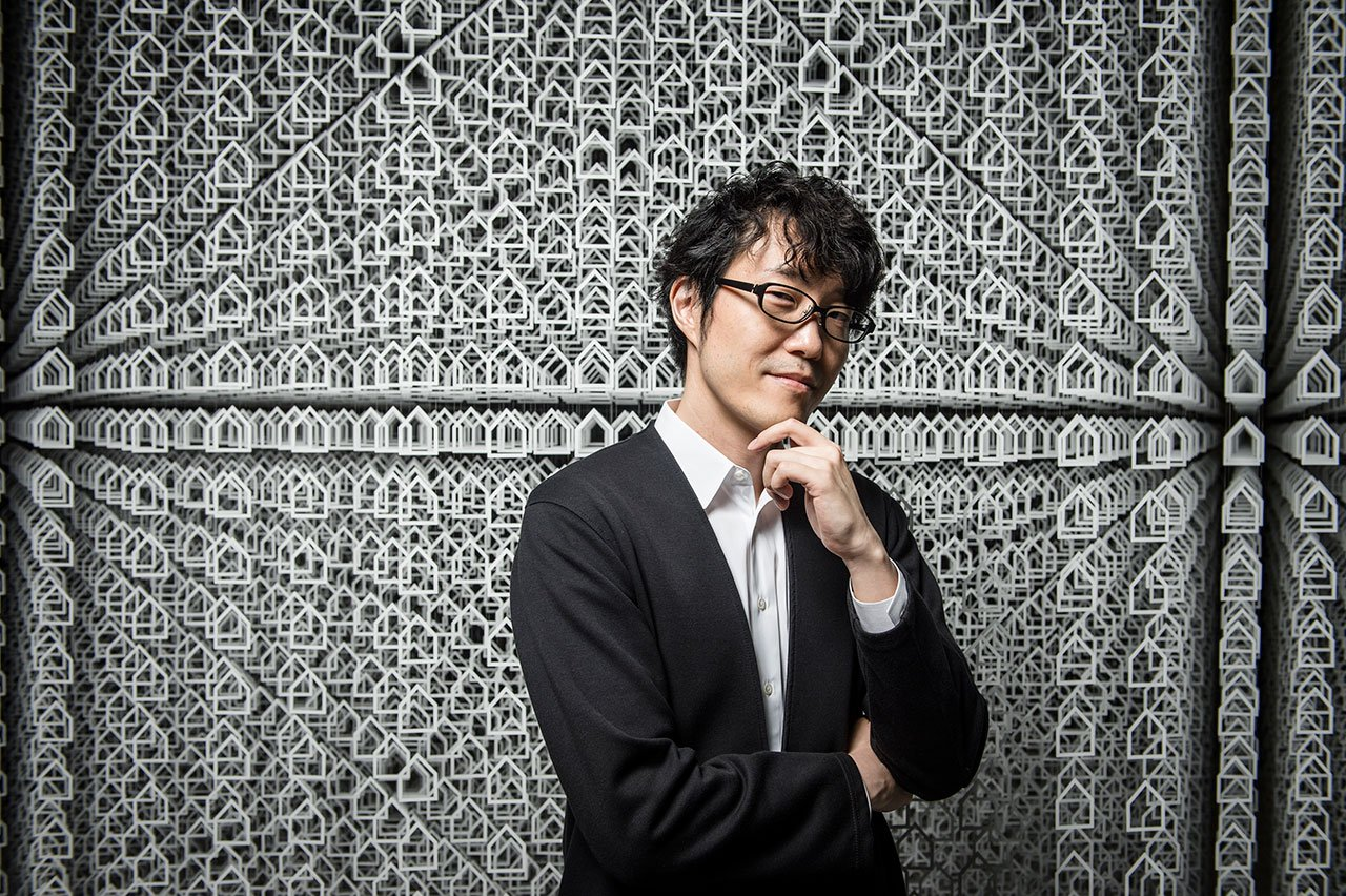 Oki Sato, Chief designer and Founder of nendo. Photo by Eugene Hyland.