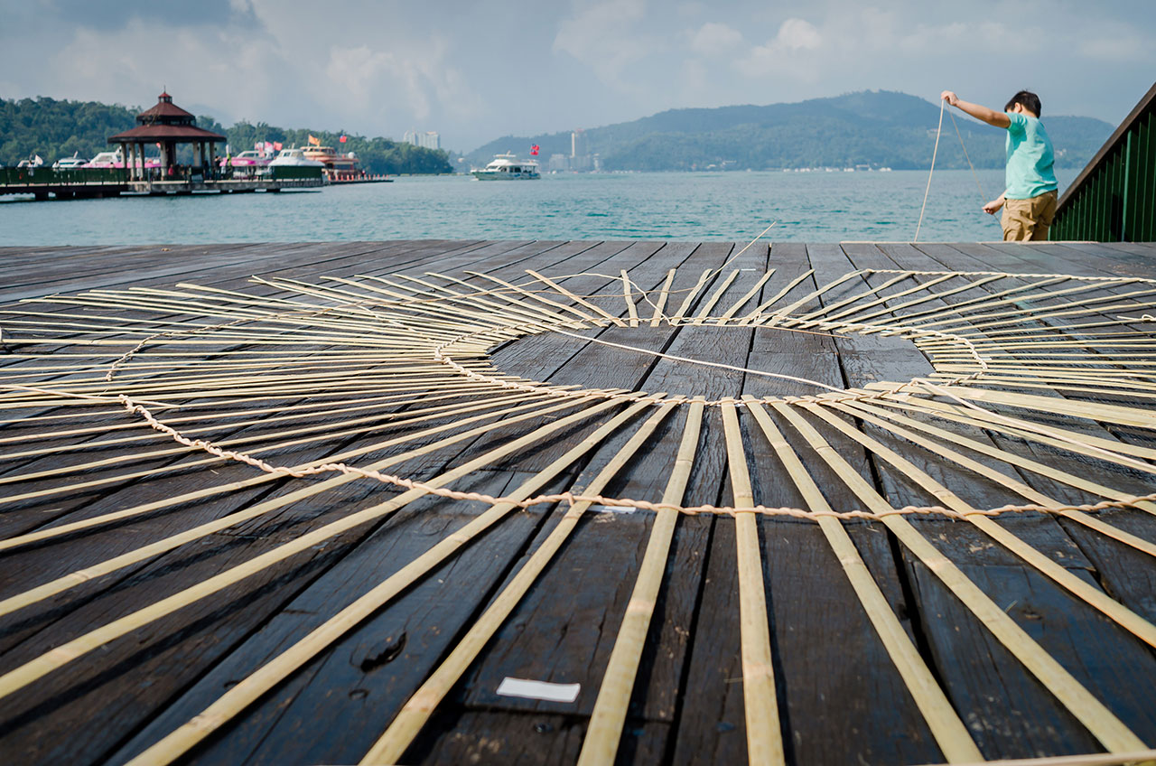 Fish Trap House workshop. Photo by Chien Hao Lin.