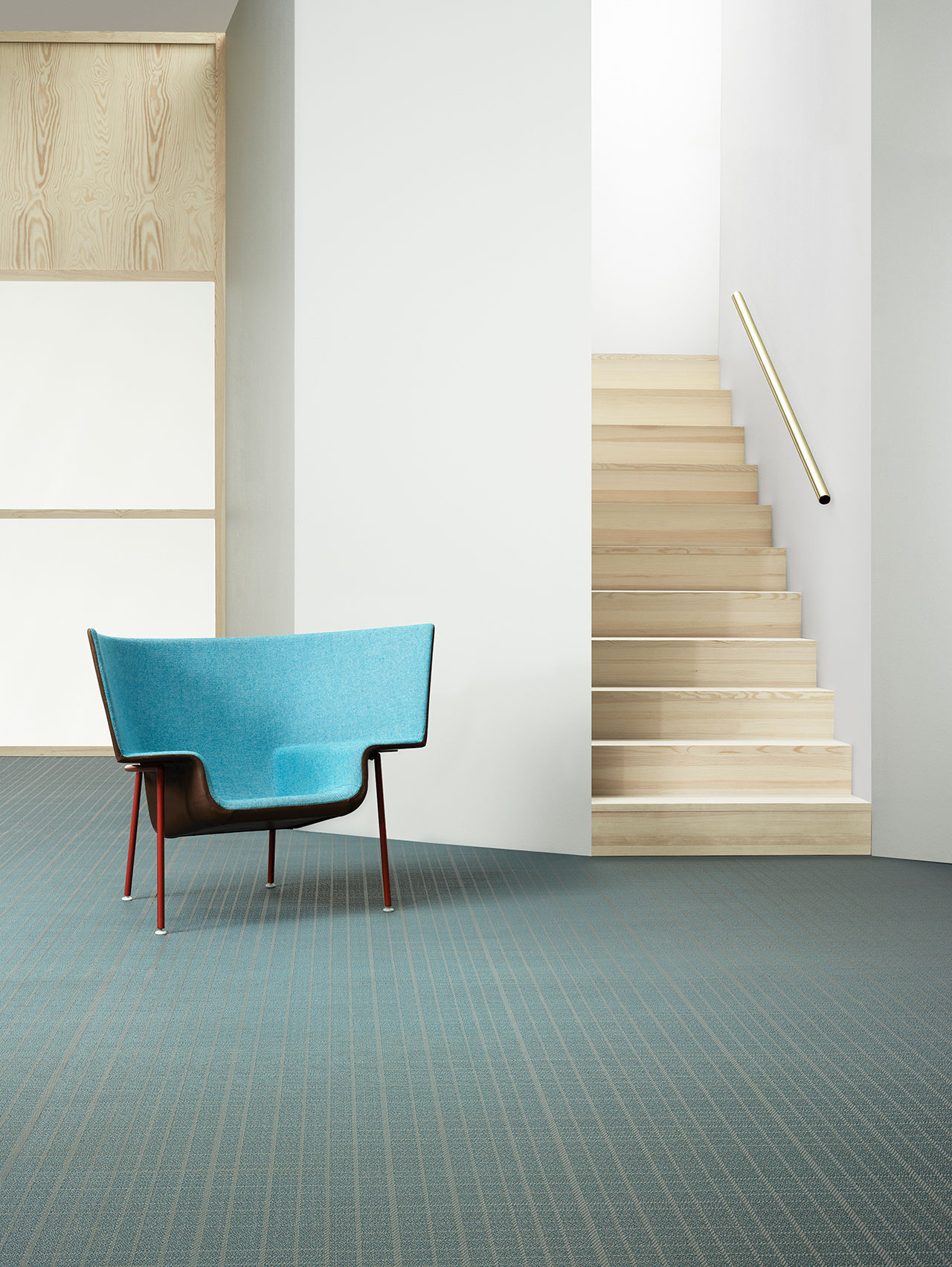 BOLON BY YOU – Grid Grey Dove Blue.Photo by Magnus Torsne.