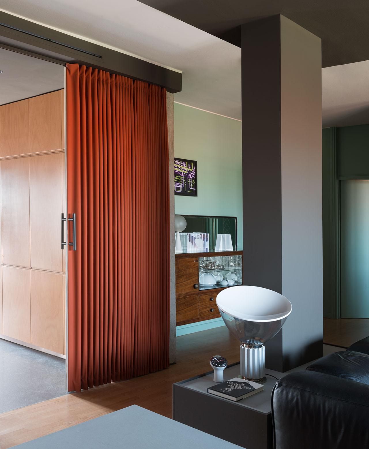 Calvi Brambilla apartment.Photo by Denise Bonenti.
