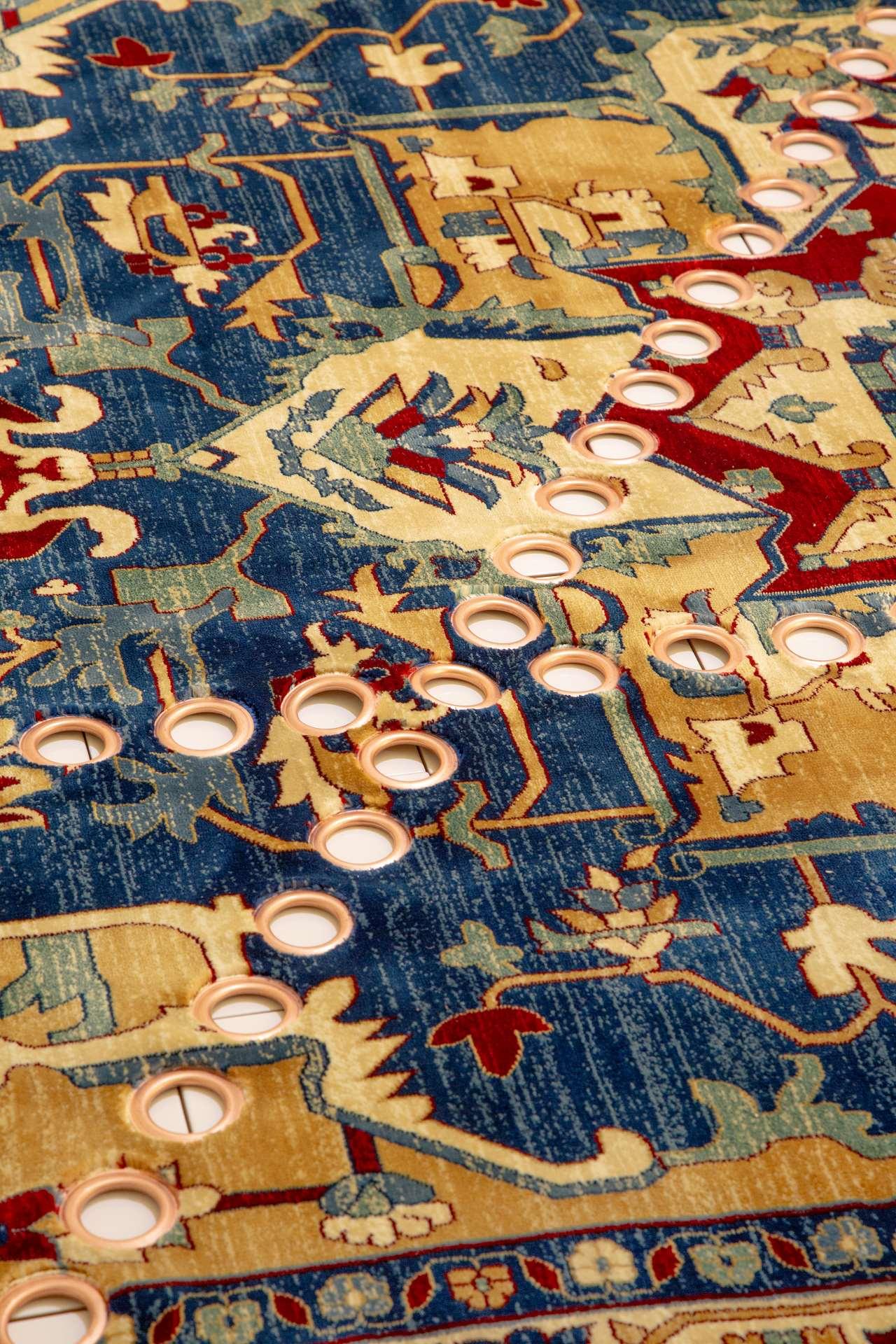 EDIT Napoli,Andrea Anastasio rug (detail). Photo© Roberto Pierucci.