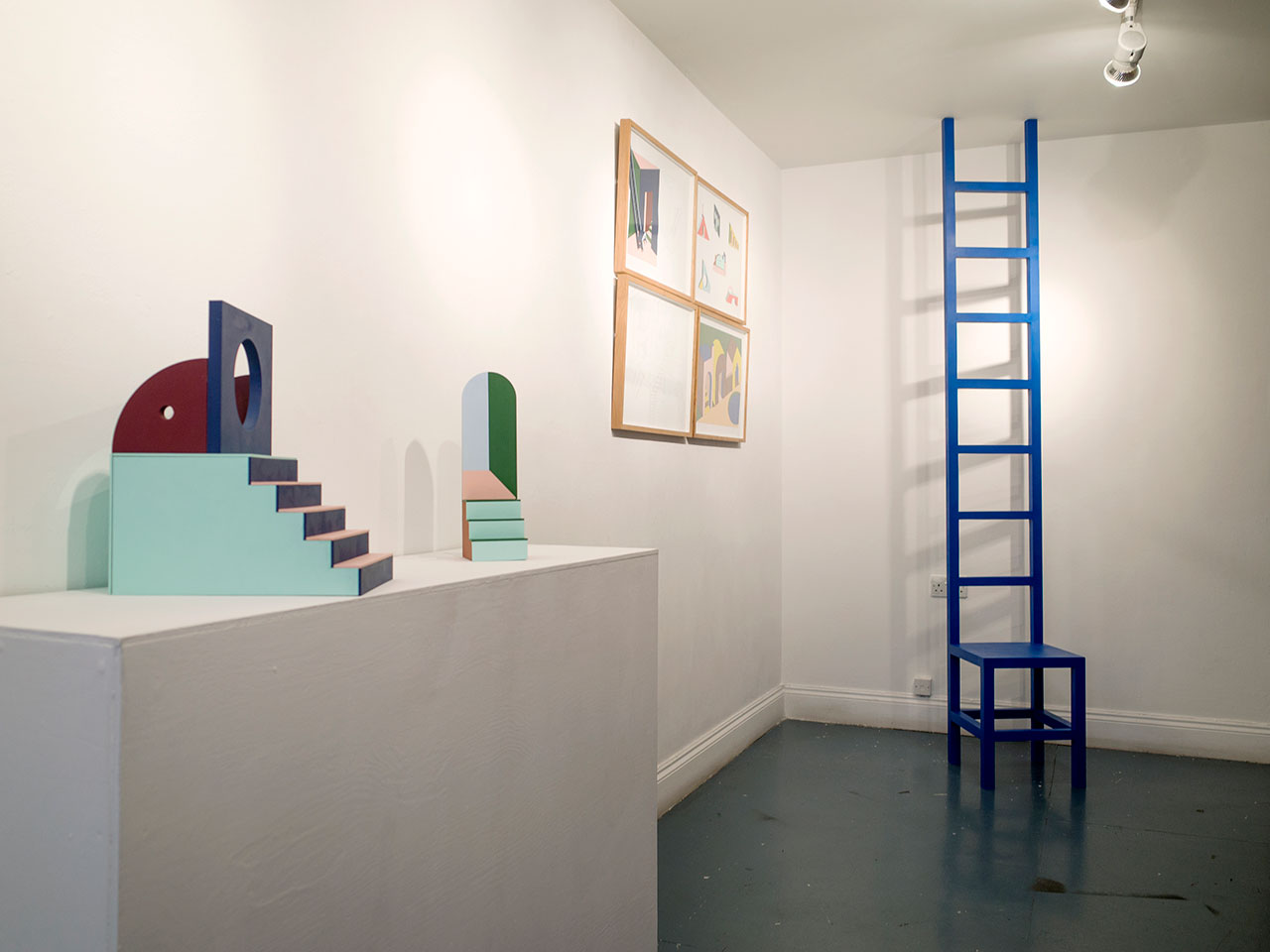 Emily Forgot, Neverland. Exhibition view from solo show at KK Outlet. Photo © Emily Forgot.