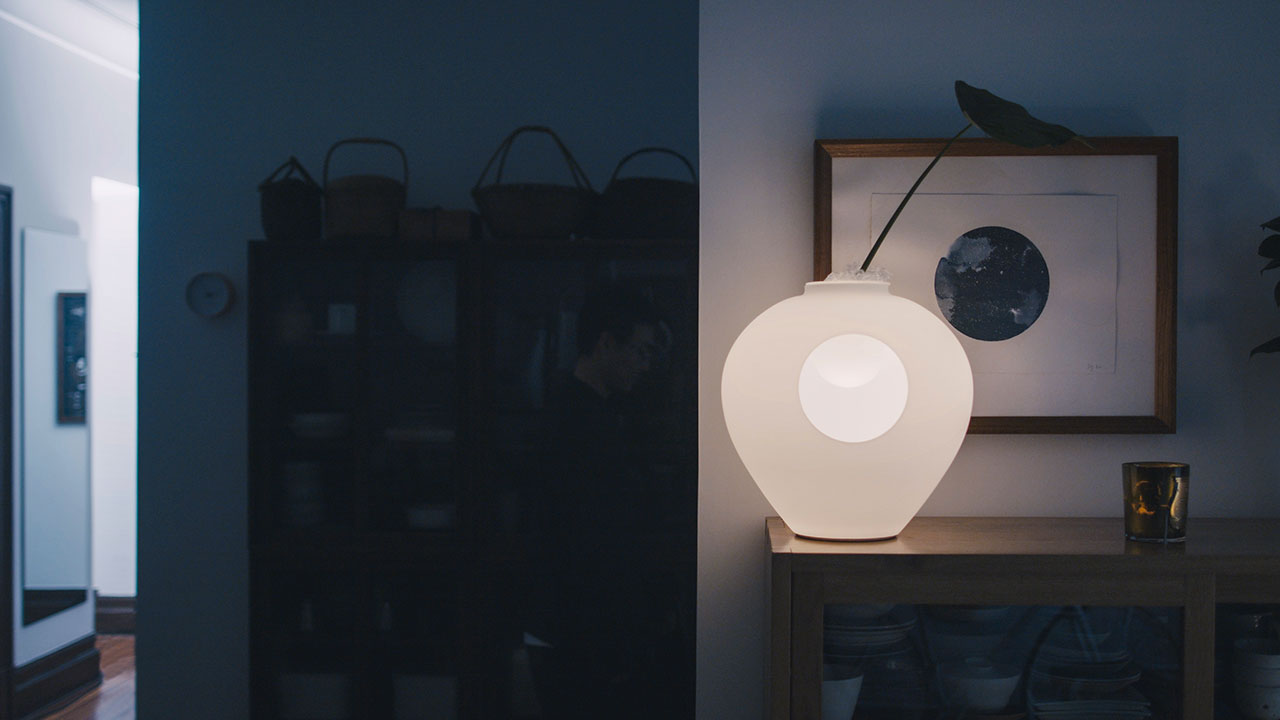 Screenshot from the VITE video series by Gianluca Vassallo for Foscarini.