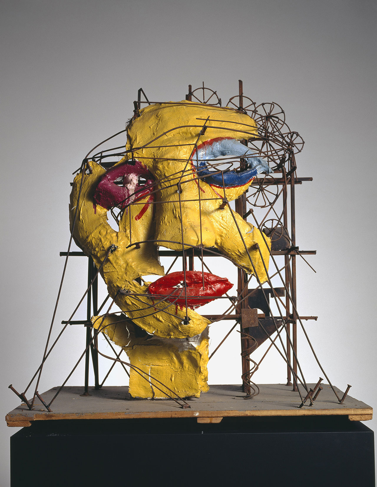 Jean Tinguely and Niki de Saint Phalle, Le Cyclop - La Tête, 1970. Collection Museum Tinguely Basel - a cultural commitment of Roche, donation Niki de Saint Phalle. Photo: Christian Baur, c/o Pictoright Amsterdam, 2016.