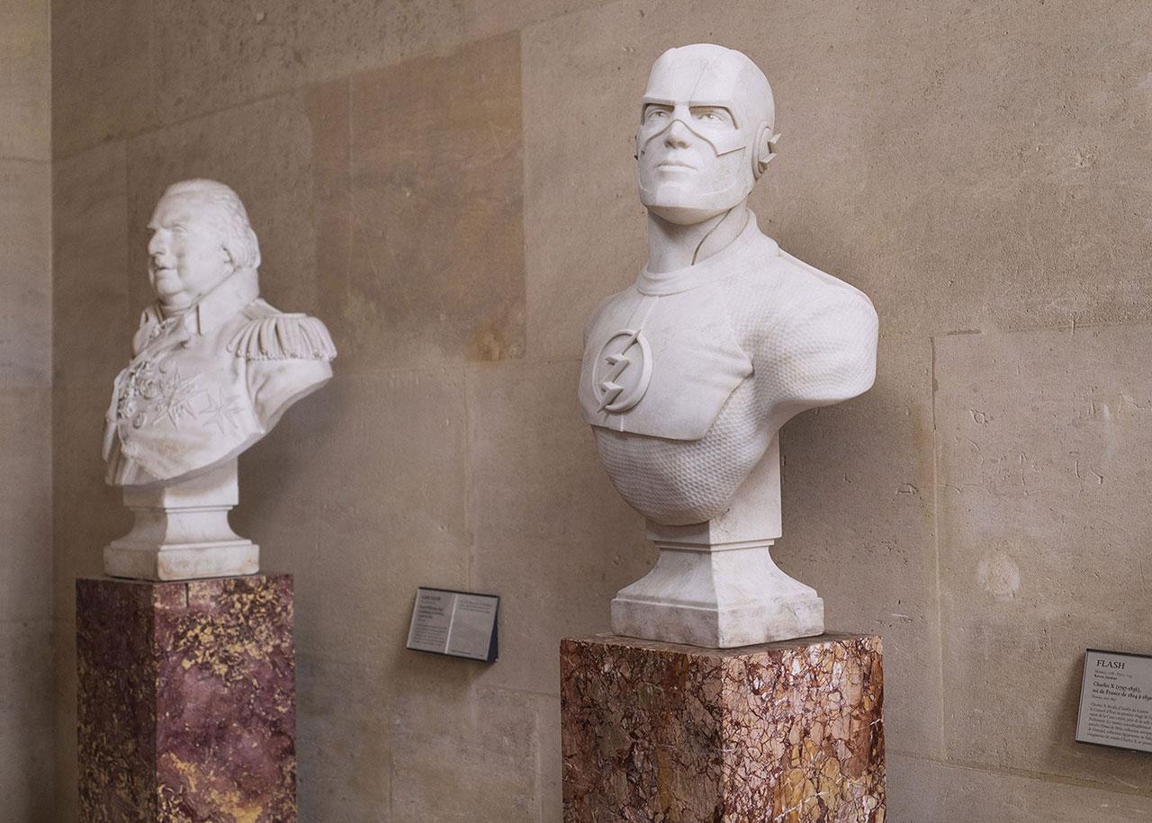 Léo Caillard,Stone Heroesseries ©Léo Caillard.