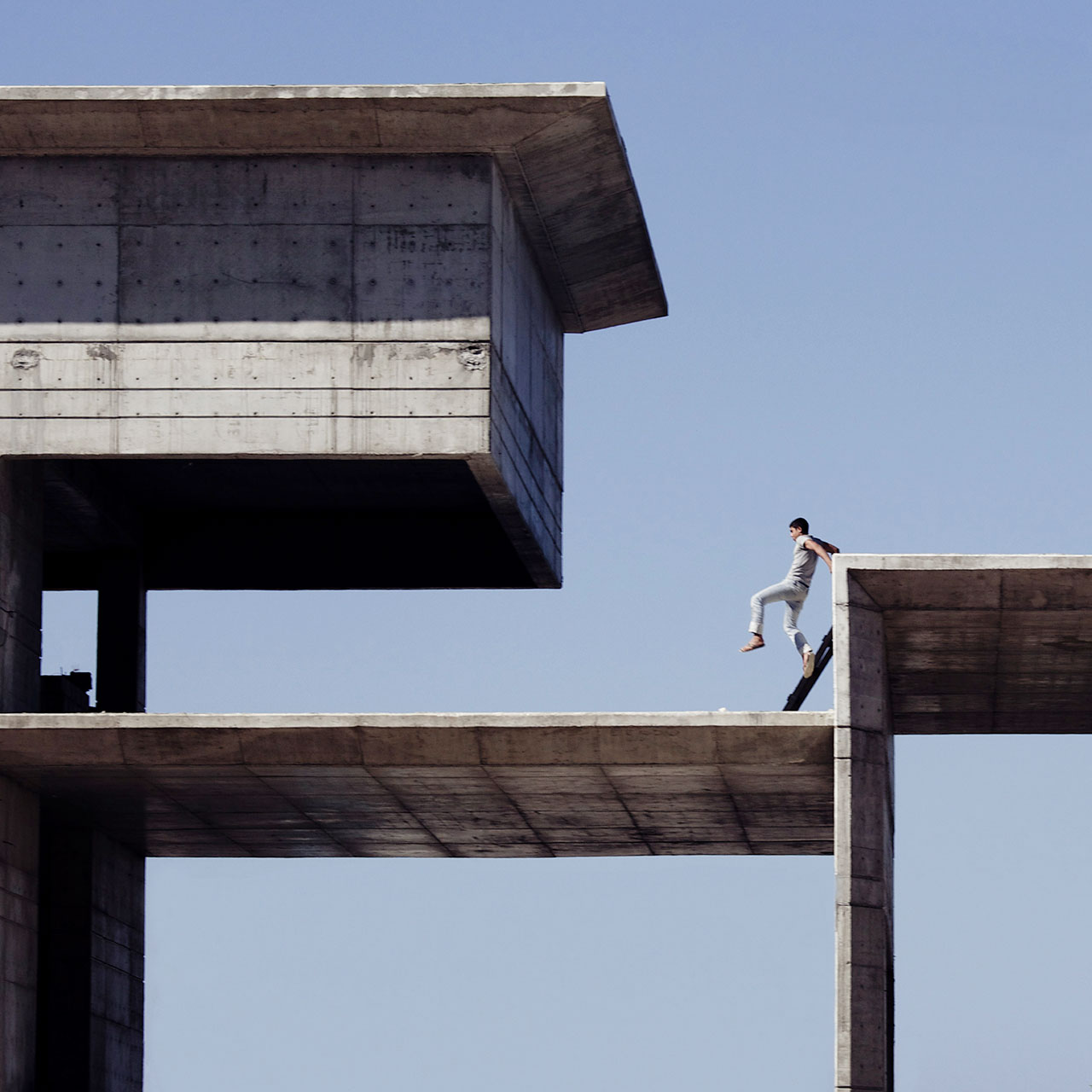 Escaping flatland, photo © Serge Najjar.
