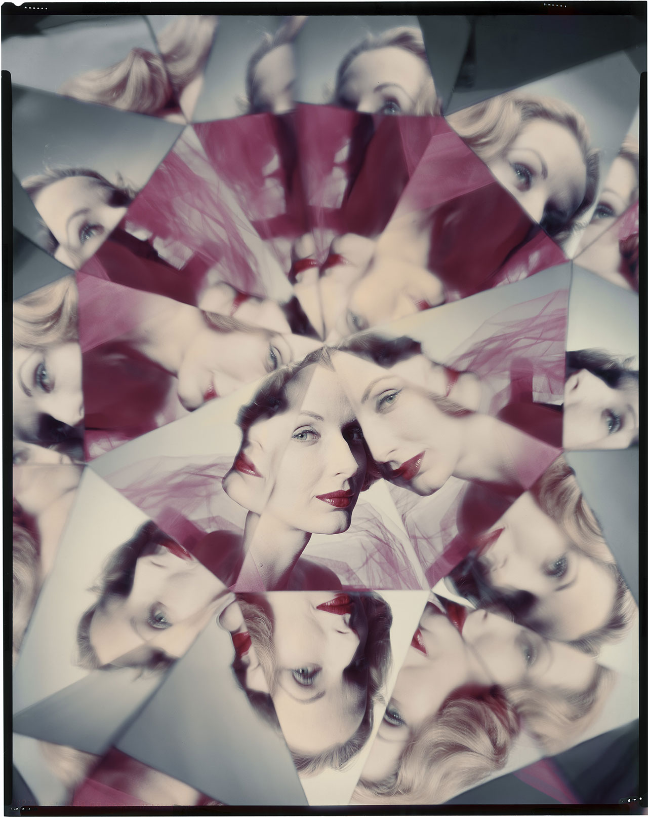 Kaleidoscope from 1960 © The Estate of Erwin Blumenfeld.