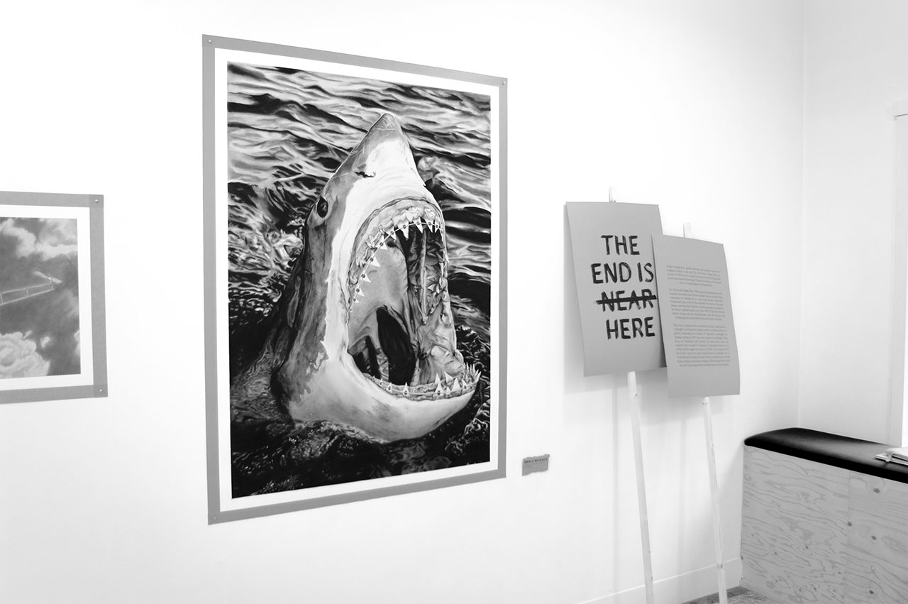 William Fort, The End Is Near Here, exhibition view. Photo courtesy the artist and Alley Gallery.