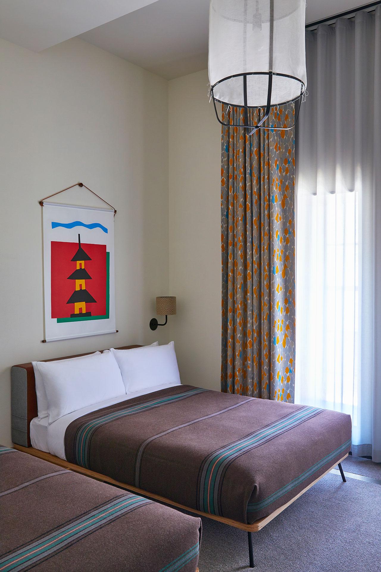 京都王牌酒店。 客房。 牧野佳弘摄。