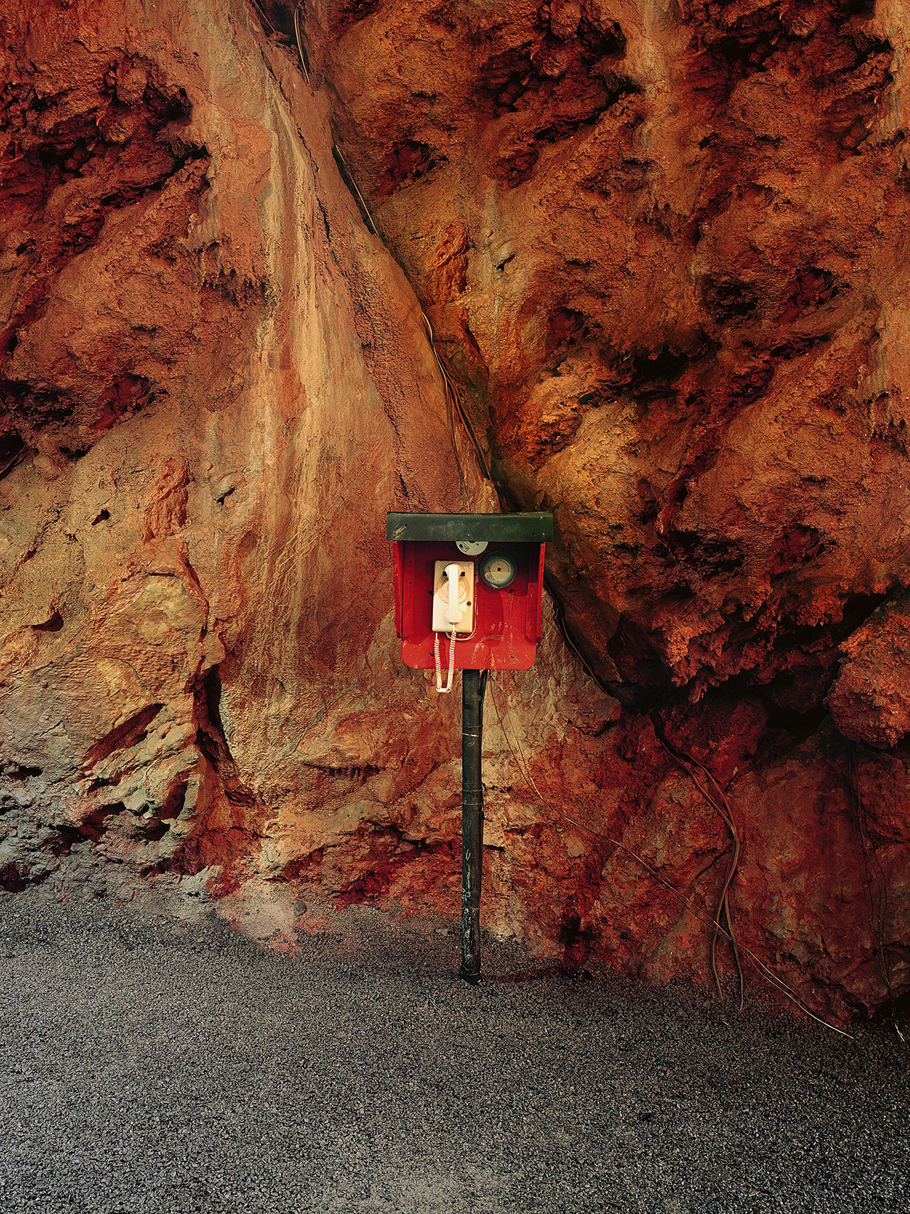 Austin Irving, Shenandoah Caverns Underground Phone, Virginia, 2012.