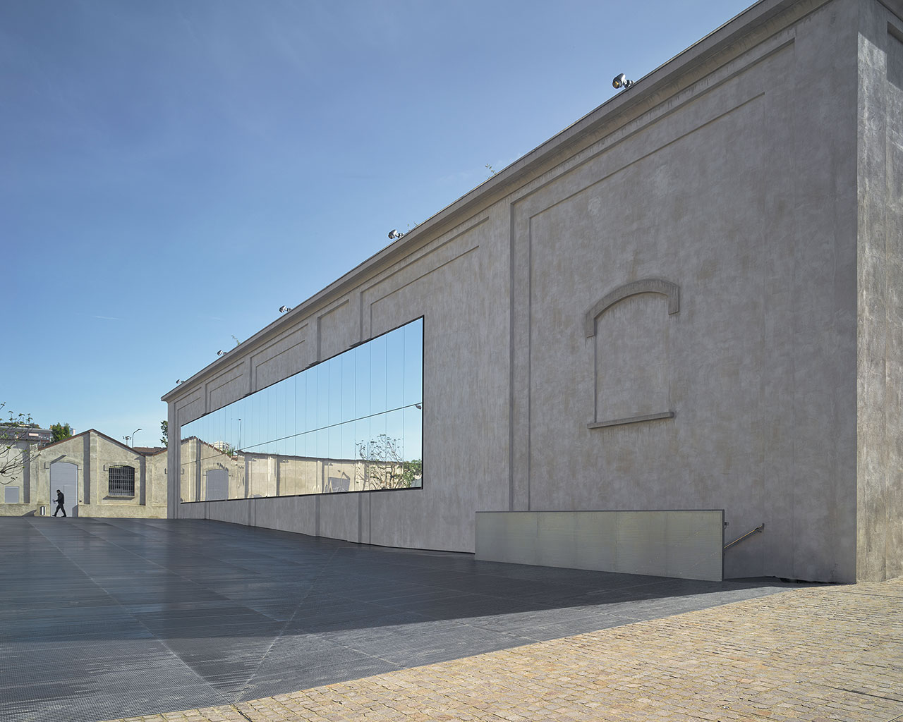 New Milan venue of Fondazione PradaArchitectural project by OMAPhoto: Bas Princen2015Courtesy Fondazione Prada.