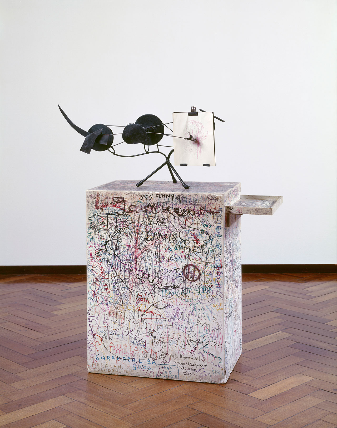Jean Tinguely, Méta-Matic No. 10, 1959. Collection Stedelijk Museum Amsterdam, c/o Pictoright Amsterdam, 2016.