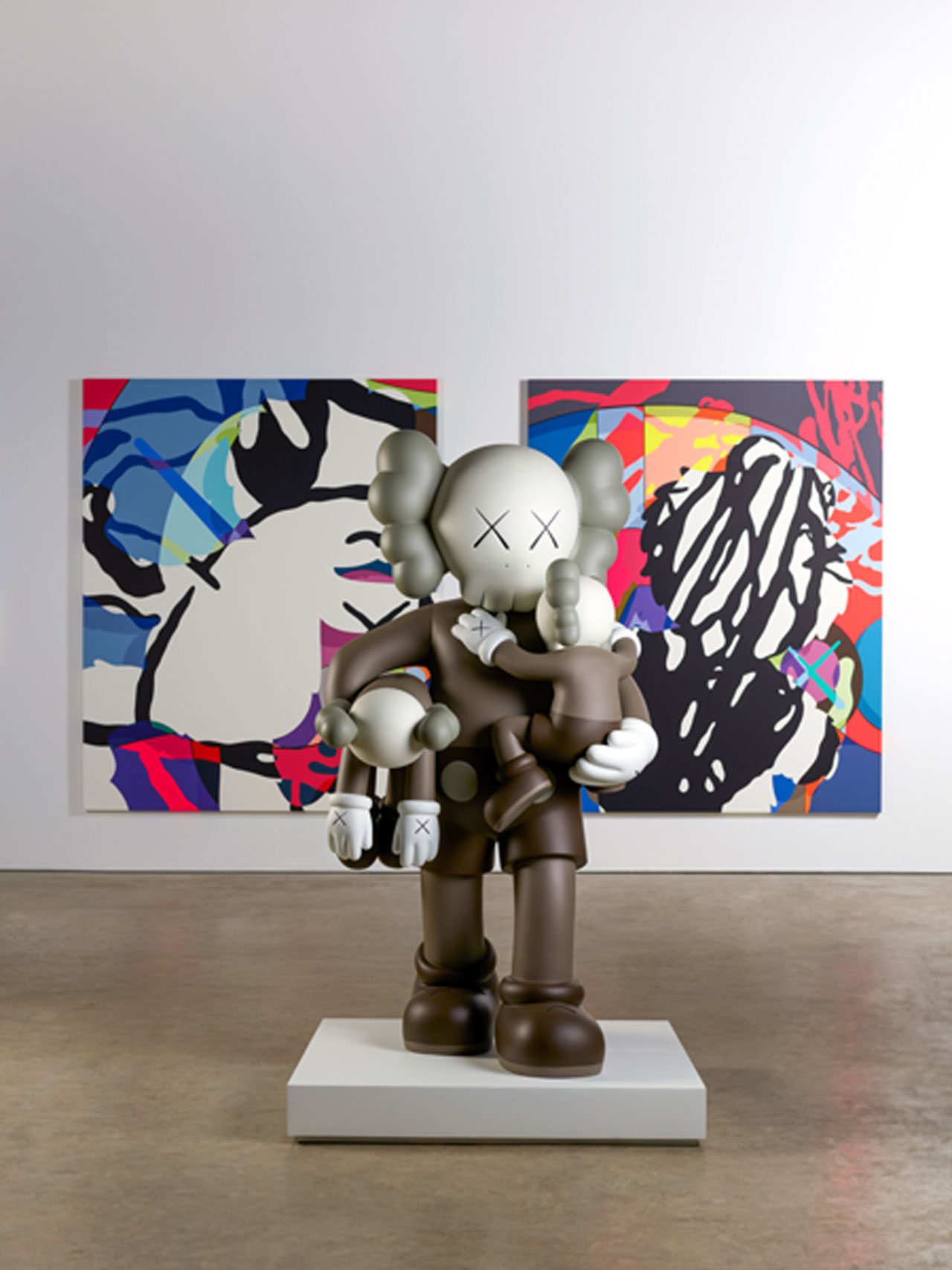 F Kaws At Yorkshire Sculpture Park Clean Slate Survival Machine Photo Jonty Wilde Yatzer