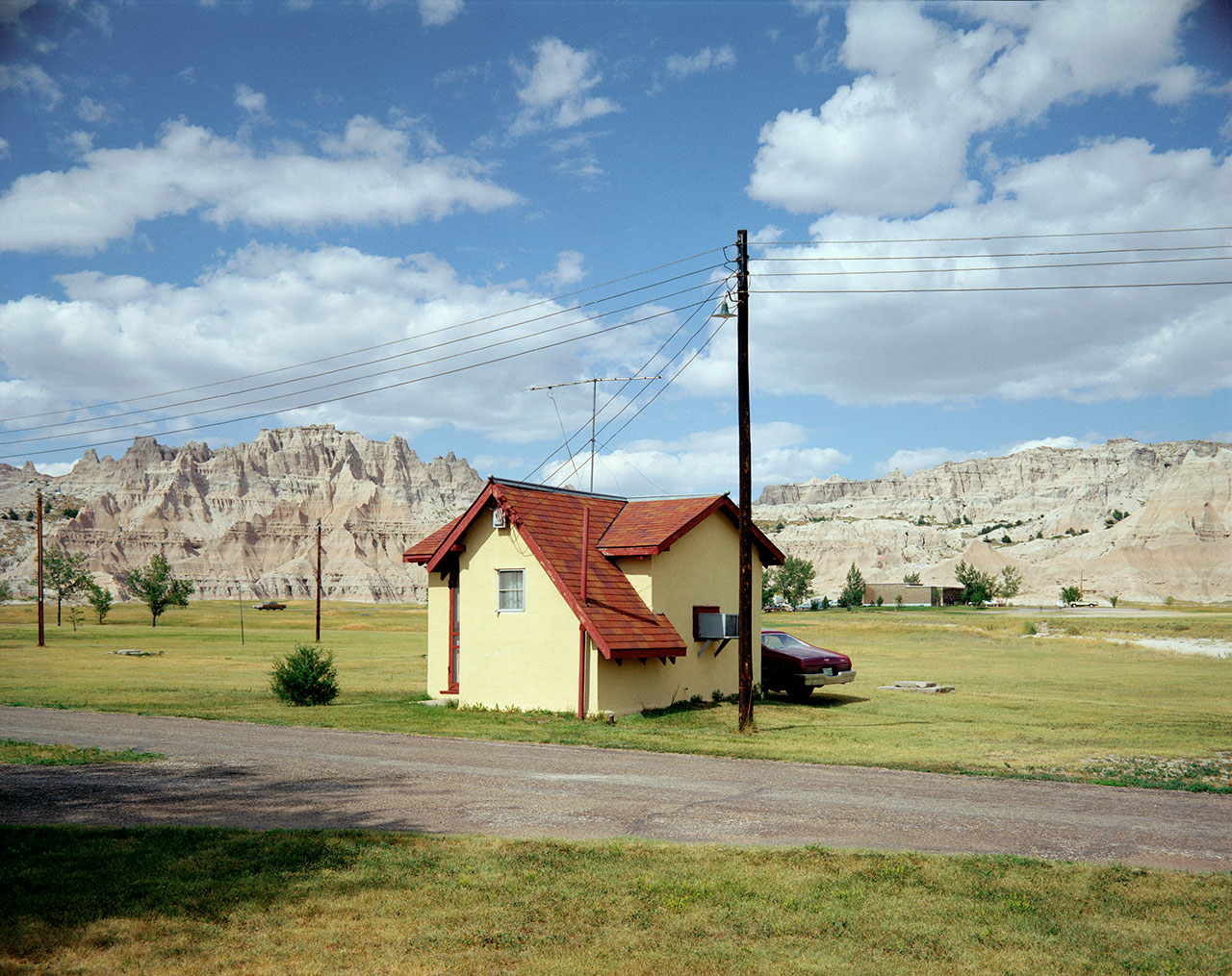 Stephen Shore, 'Badlands National Monument, South Dakota, July 14, 1973', 1973 (printed 2014). C-print, Edition of 8, 43.2 x 55.2 cm / Paper 50.8 x 61 cm / Framed 59 x 68 cm. Courtesy of the artist and 303 Gallery, New York.