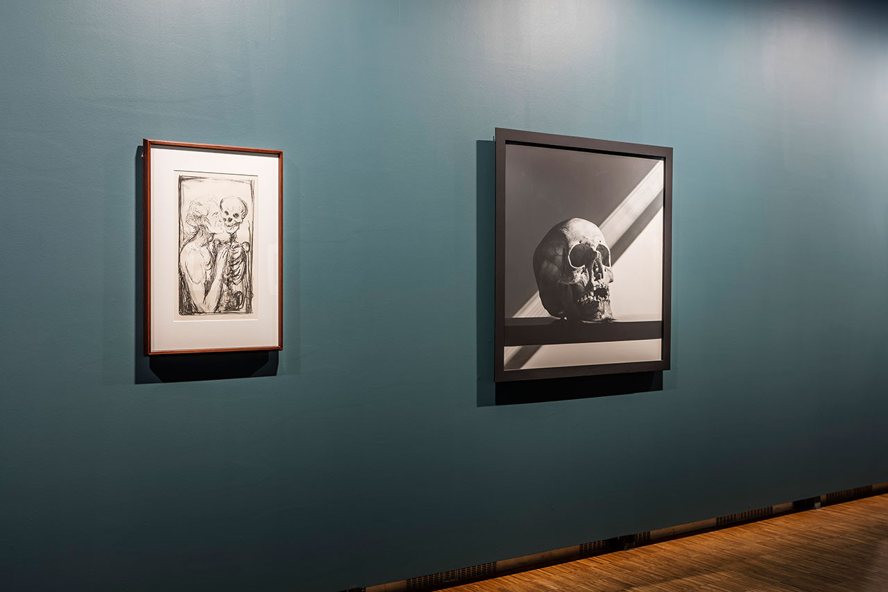 Mapplethorpe + Munch exhibition at the Munch Museum, Oslo (2016). Installation view.Photo by Vegard Kleven.