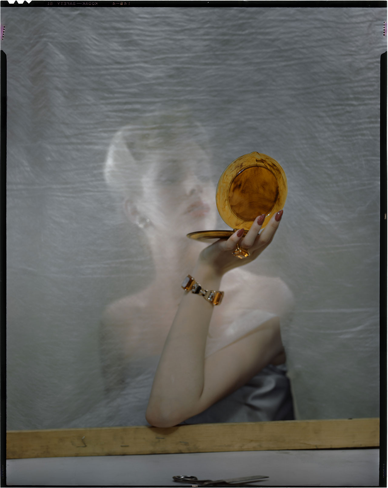 Variant for an advetising photo, around 1955 © The Estate of Erwin Blumenfeld.