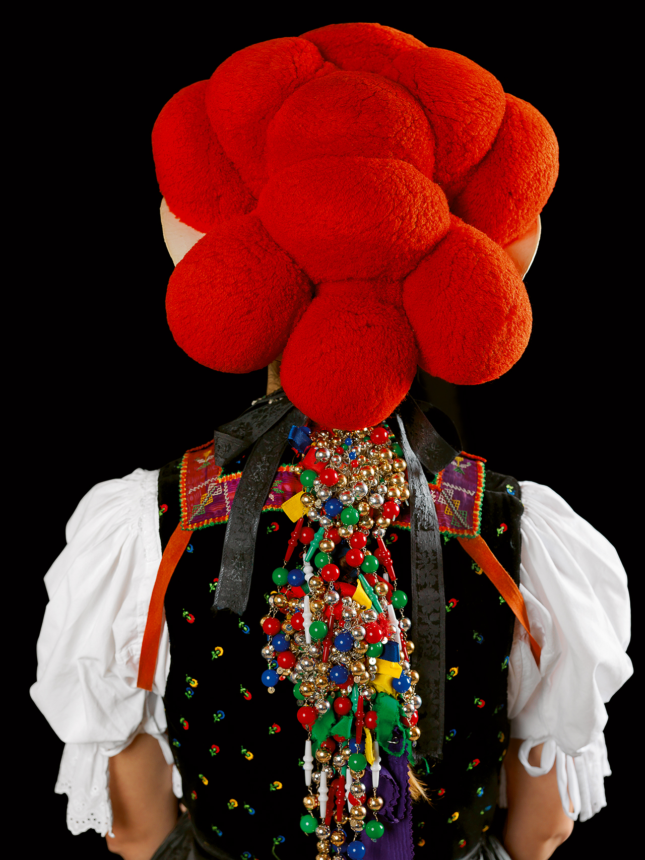 Gutachtaler Tracht Black Forest, Gutachttal Photo by Gregor Hohenberg from 'Traditional Couture' © Gestalten 2015.