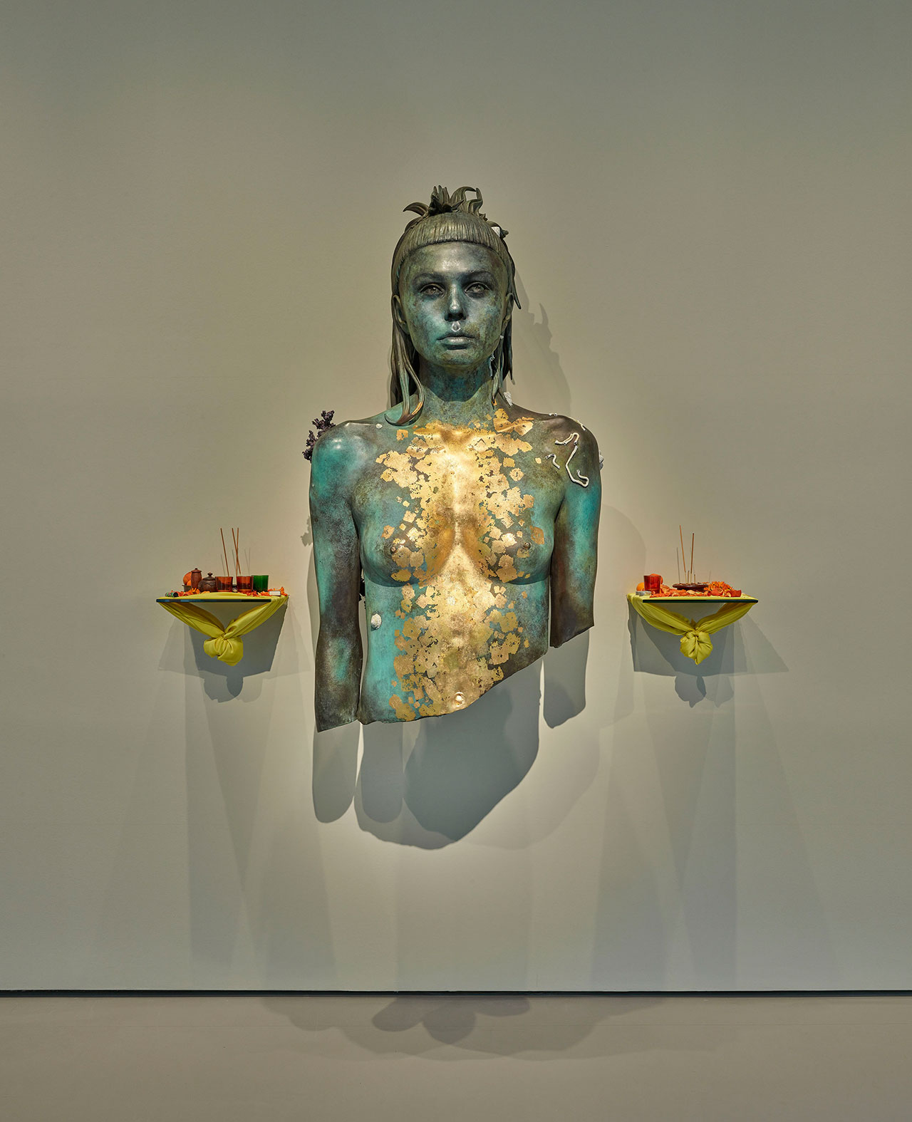 From Palazzo Grassi, Room 11: Damien Hirst, Aspect of Katie Ishtar ¥o-landi. Photographed by Prudence Cuming Associates © Damien Hirst and Science Ltd. All rights reserved, DACS/SIAE 2017.