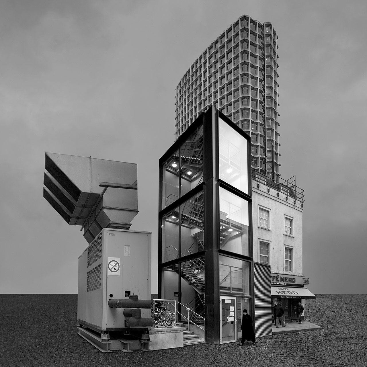 Beomsik Won, Archisculpture 003, 2010. Archival pigment print, 50x50cm.