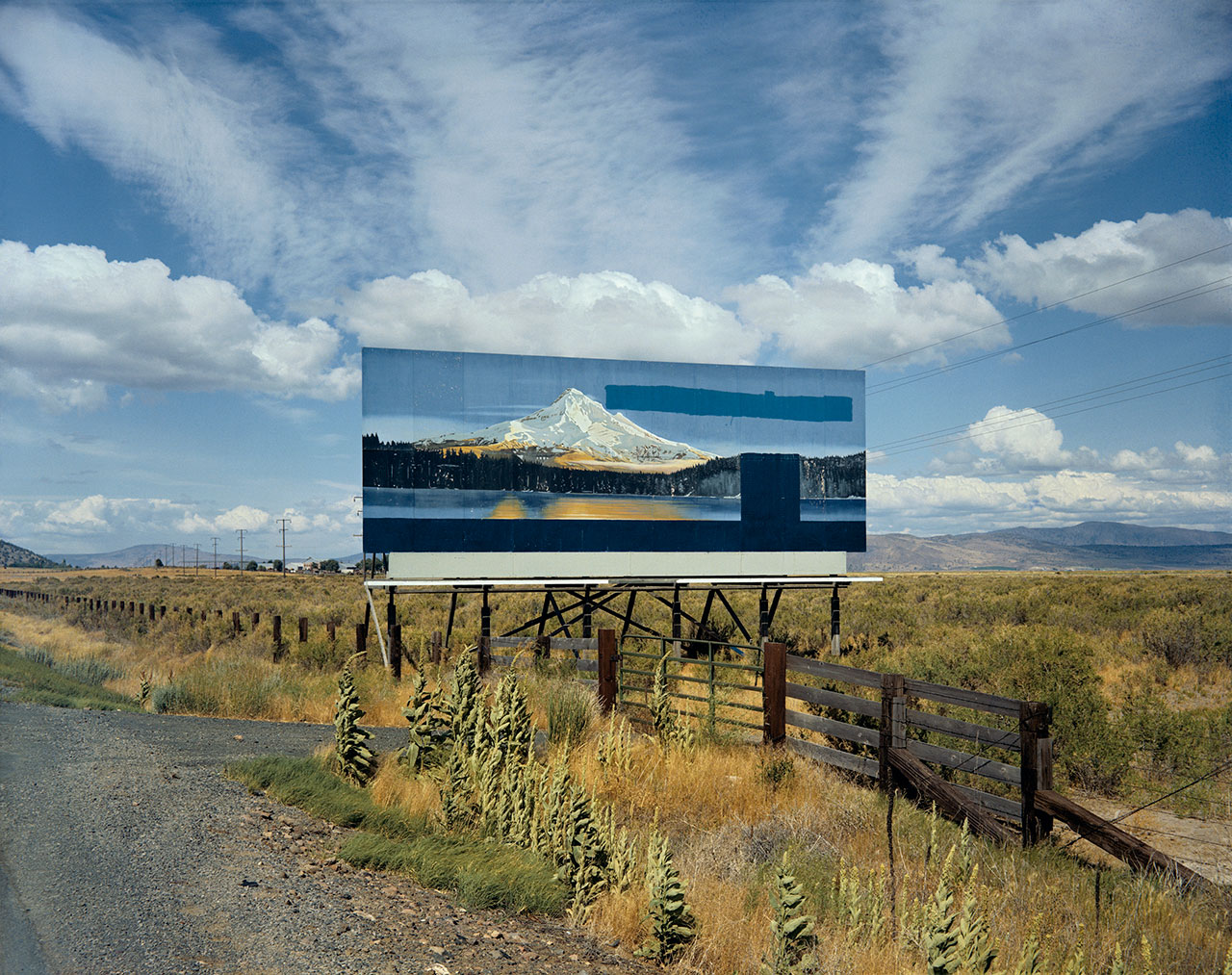 Stephen Shore, 'U.S. 97, South of Klamath Falls, Oregon, July 21, 1973', 1973 (printed 2002). C-print, Edition of 8, 43.2 x 55.2 cm / Paper 50.8 x 61 cm / Framed 59 x 68 cm. Courtesy of the artist and 303 Gallery, New York.