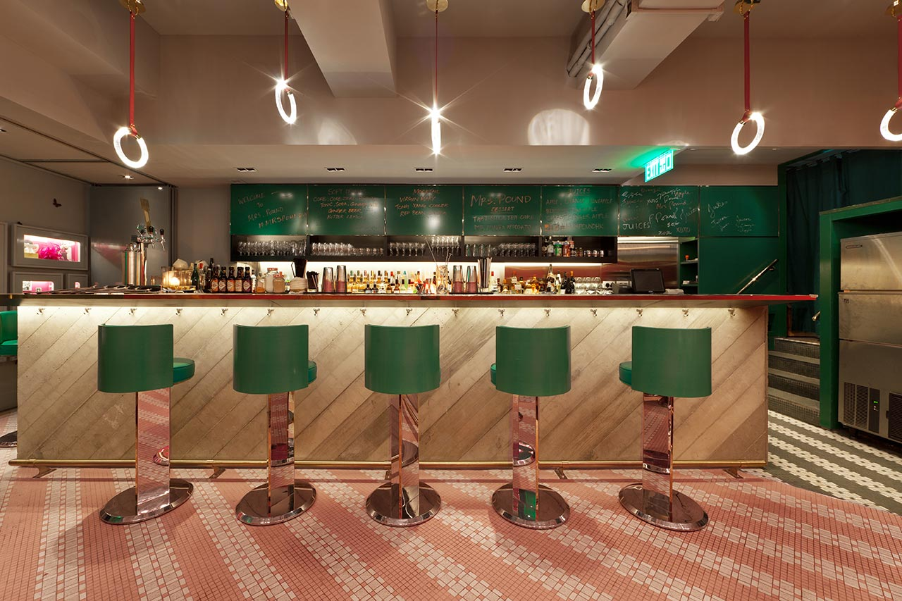 Mrs Pound Speakeasy Bar And Restaurant In Hong Kong By