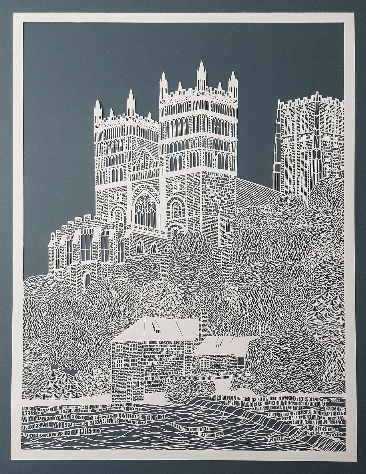 Pippa Dyrlaga,Durham Cathedral, 2016 ©Pippa Dyrlaga.
