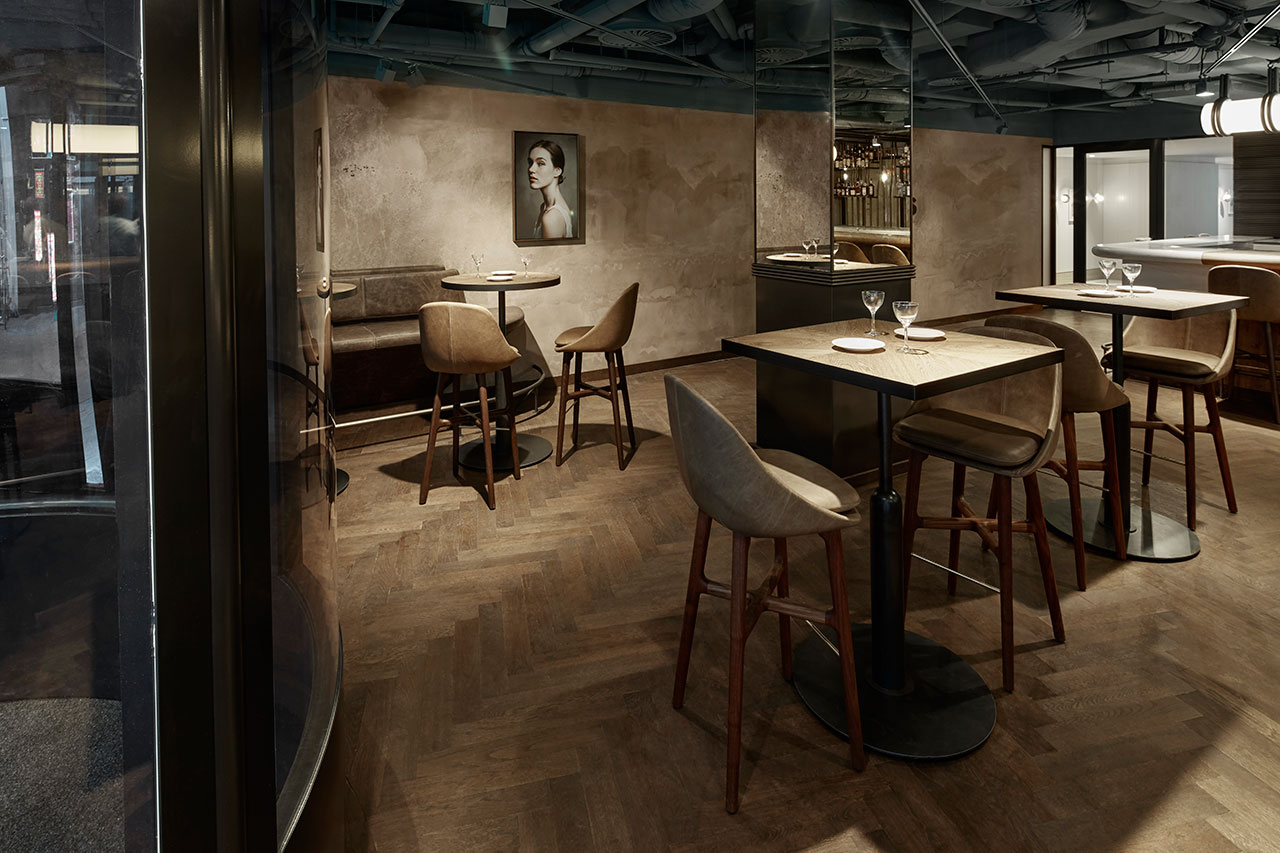 A nod to heritage wyers restaurant and miss louisa caf in amsterdam yatzer - Bar cuisine studio ...