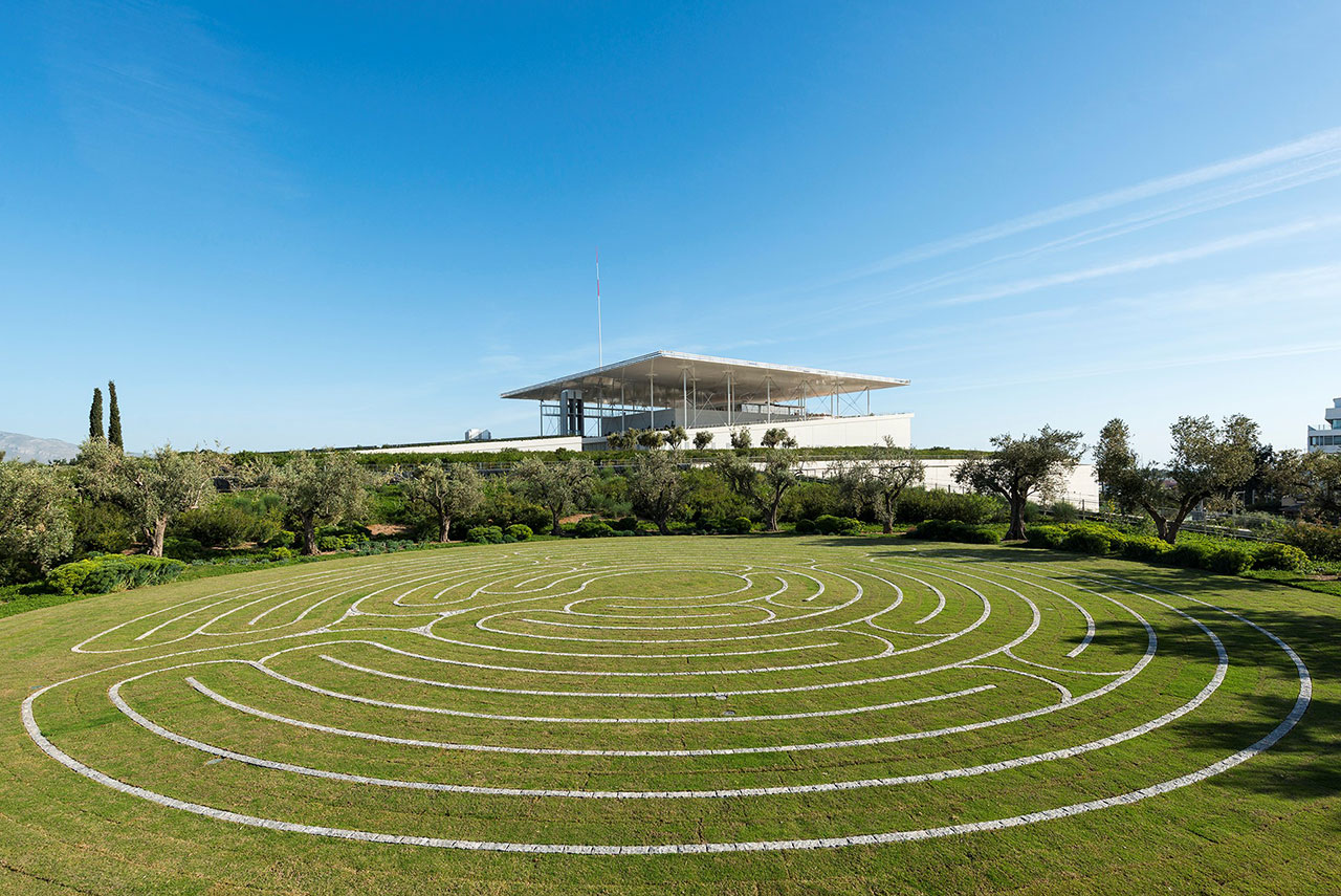 The Labyrinth. Photo © SNFCC / Yiorgis Yerolymbos.