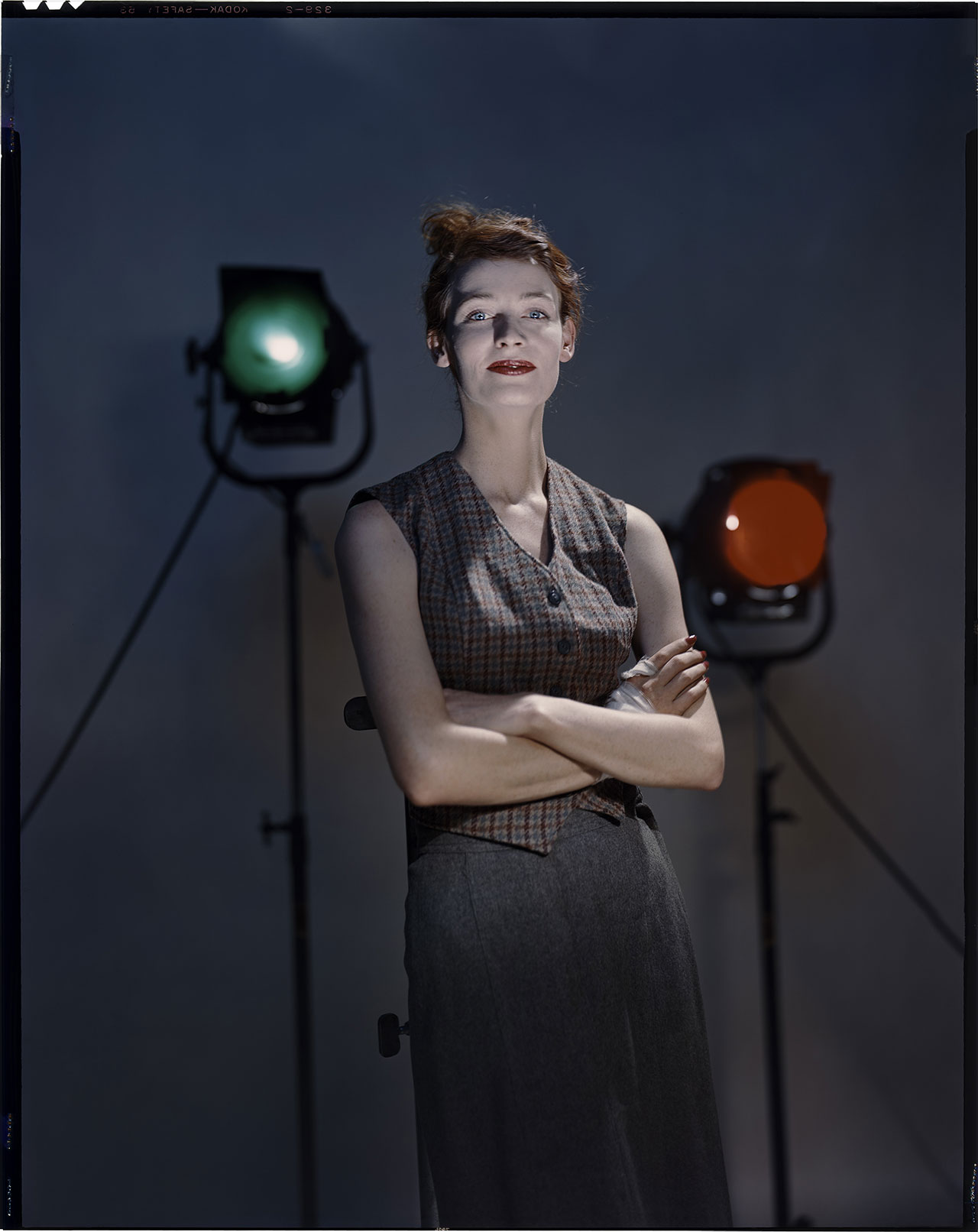 Untitled, model : Teddi Thurman © The Estate of Erwin Blumenfeld.