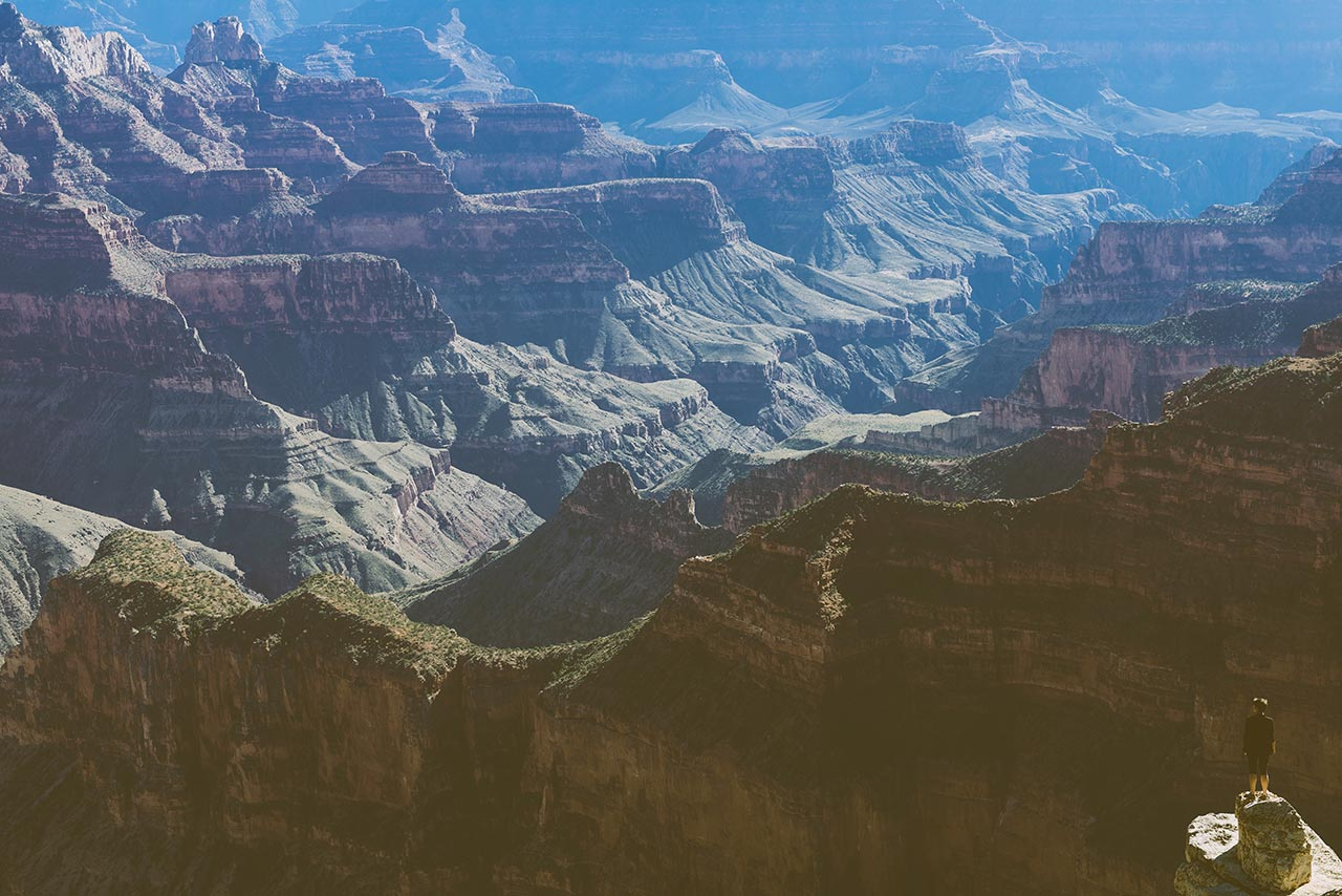 Grand Canyon National Park, United States. Photo by Julian Bialowas, from 'The Great Wide Open', © Gestalten 2015.