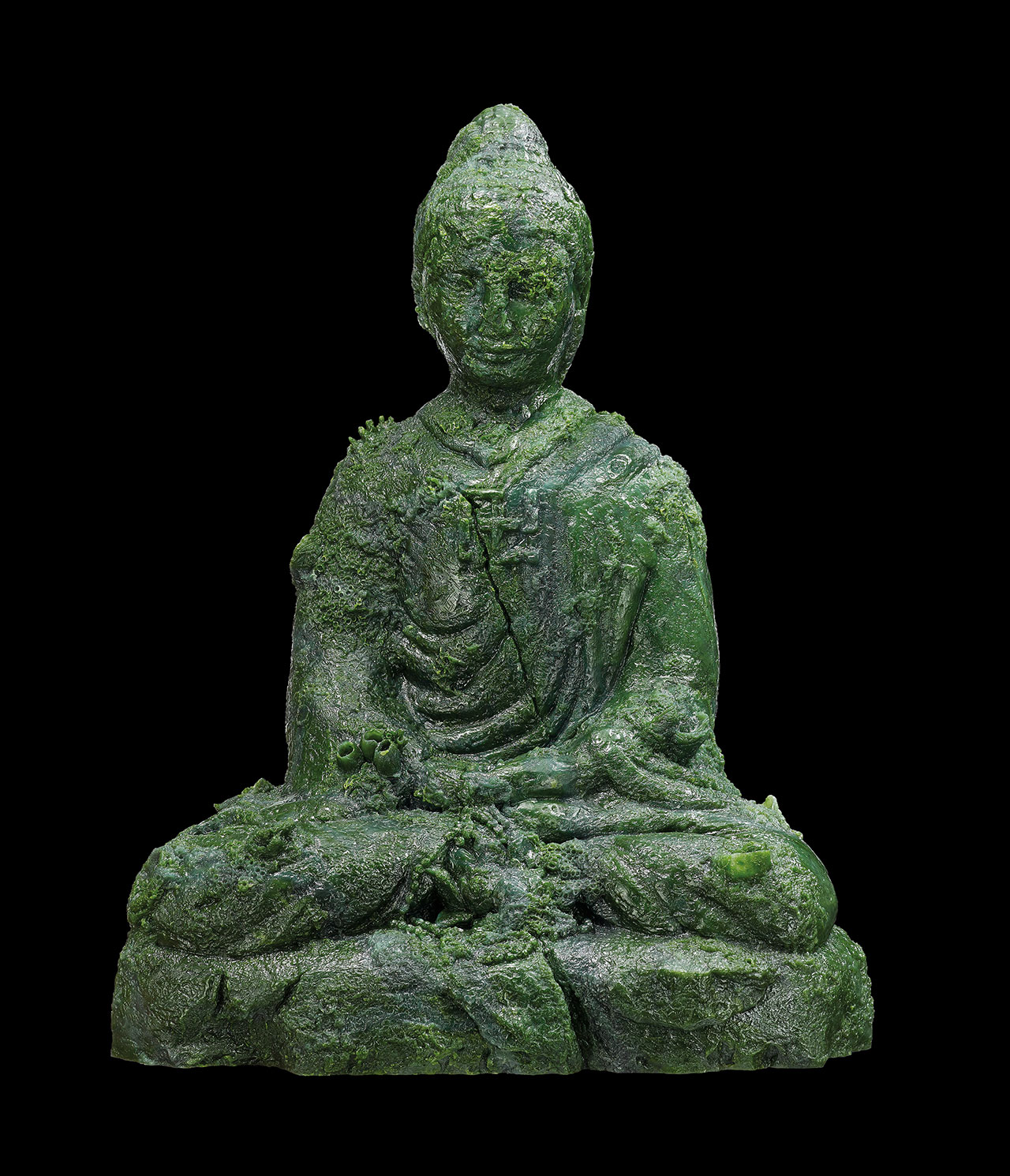 Damien Hirst, Jade Buddha. Photographed by Prudence Cuming Associates © Damien Hirst and Science Ltd. All rights reserved,DACS/SIAE 2017.