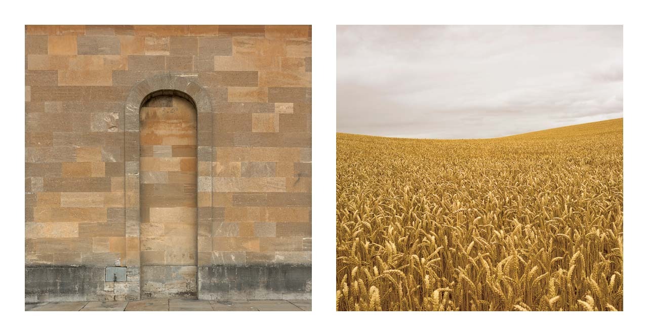 John Pawson, Woodstock & Eastleach, 2014 & 2013. Printed 2018, Matt C-Type print on Archival paper, 16 x 16 inches, Edition of 25.