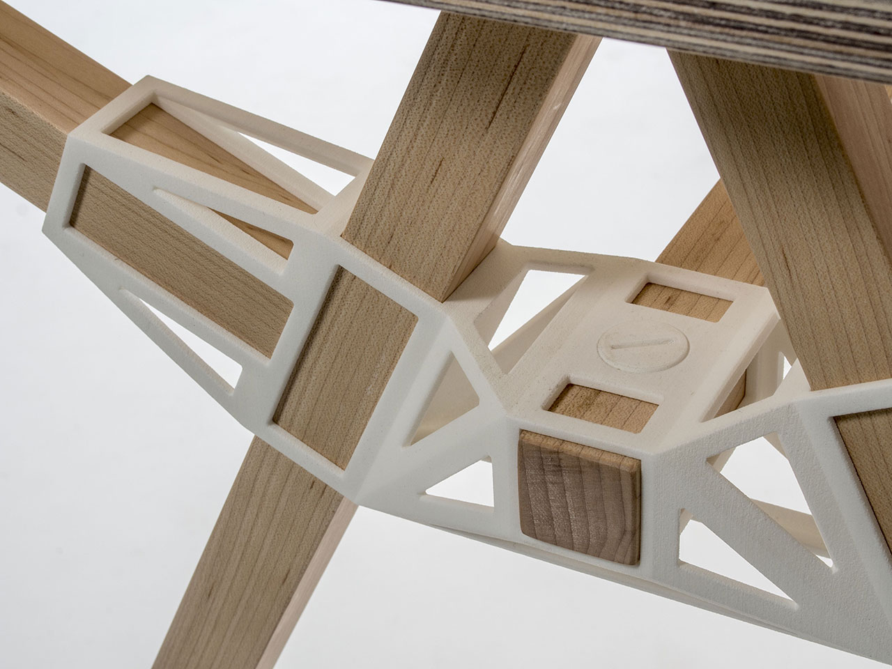 Studio Minale Maeda, Keytones table (first prototype), 2014, Collection Vitra Design Museum.