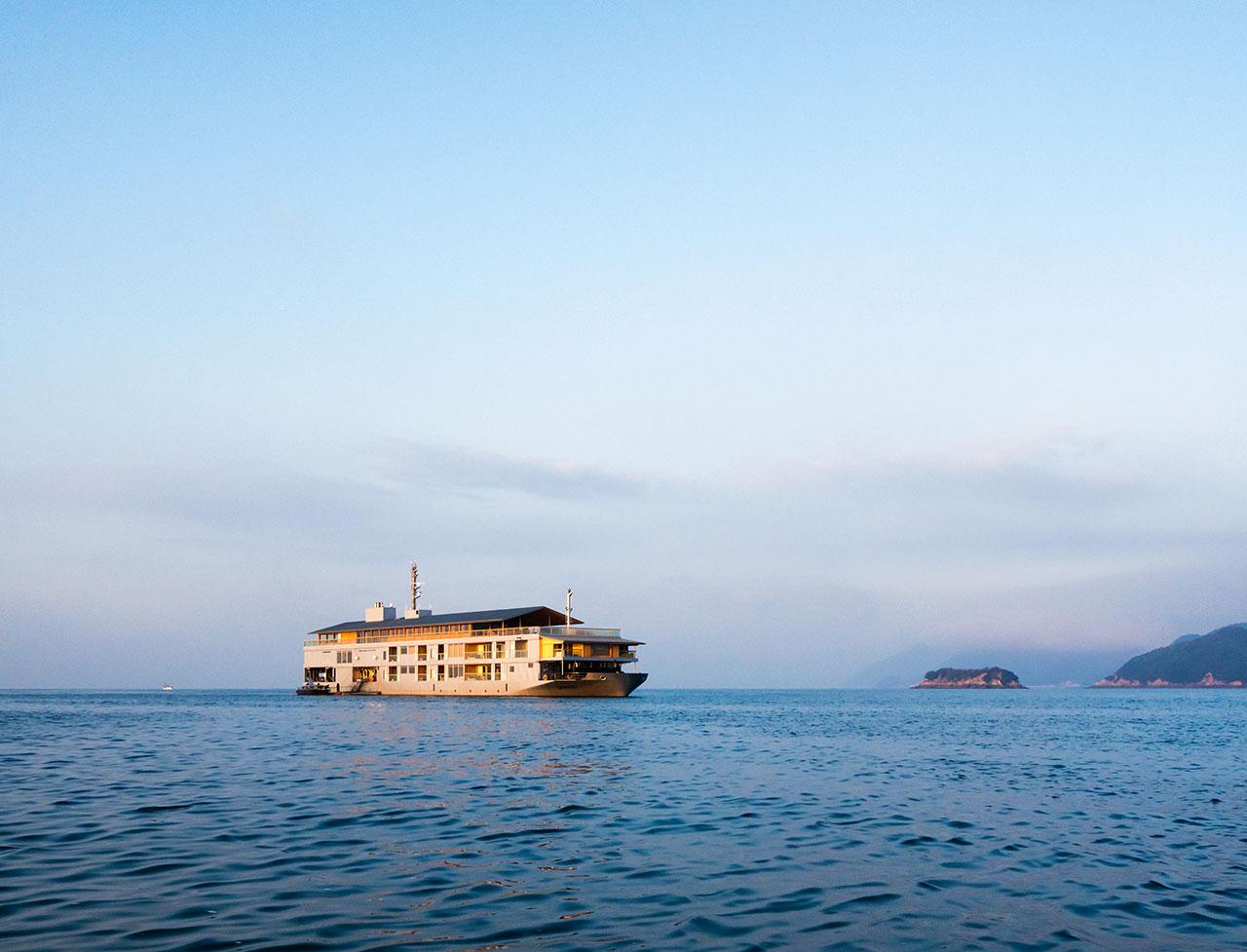 Photo by Tetsuya Ito.Courtesy of Setouchi Cruise.