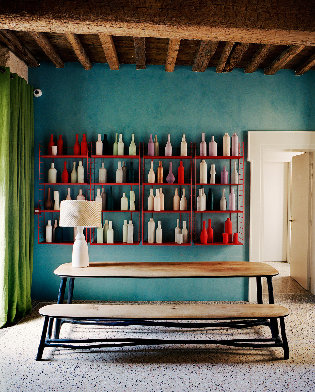 India Mahdavi Imbues Le Cloître Hotel In Arles With Painterly Flair Yatzer