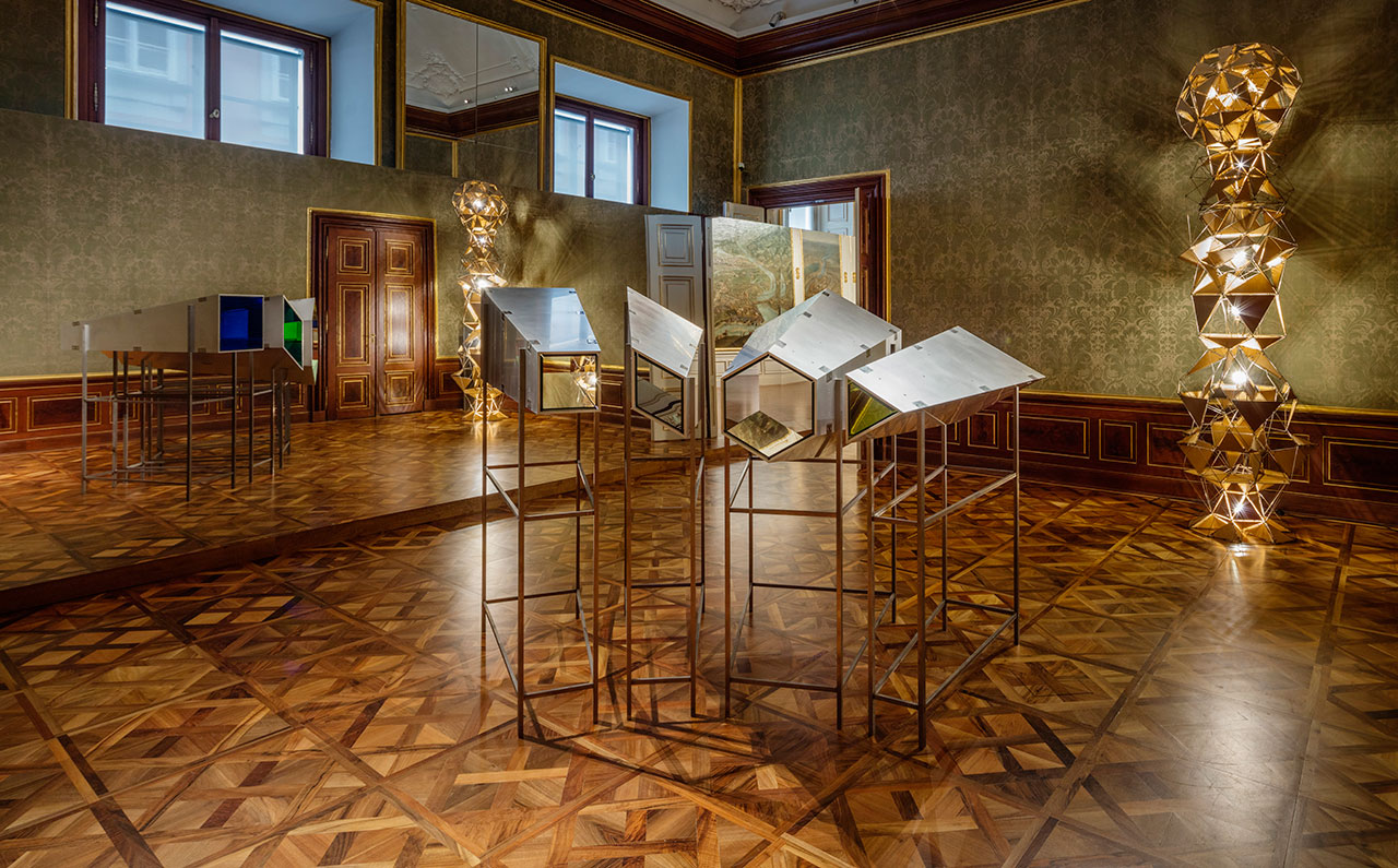 Installation view, 2015 The Winter Palace of Prince Eugene of Savoy, Vienna 2015 Photo by Anders Sune Berg © Olafur Eliasson.