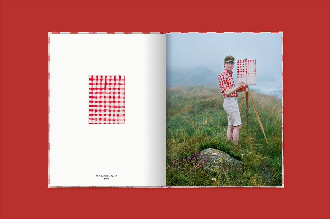 In den Zillertaler Alpen I, 2009 (book spread).© 2016 Edition Taube,Hank Schmidt in der Beek, Fabian Schubert.