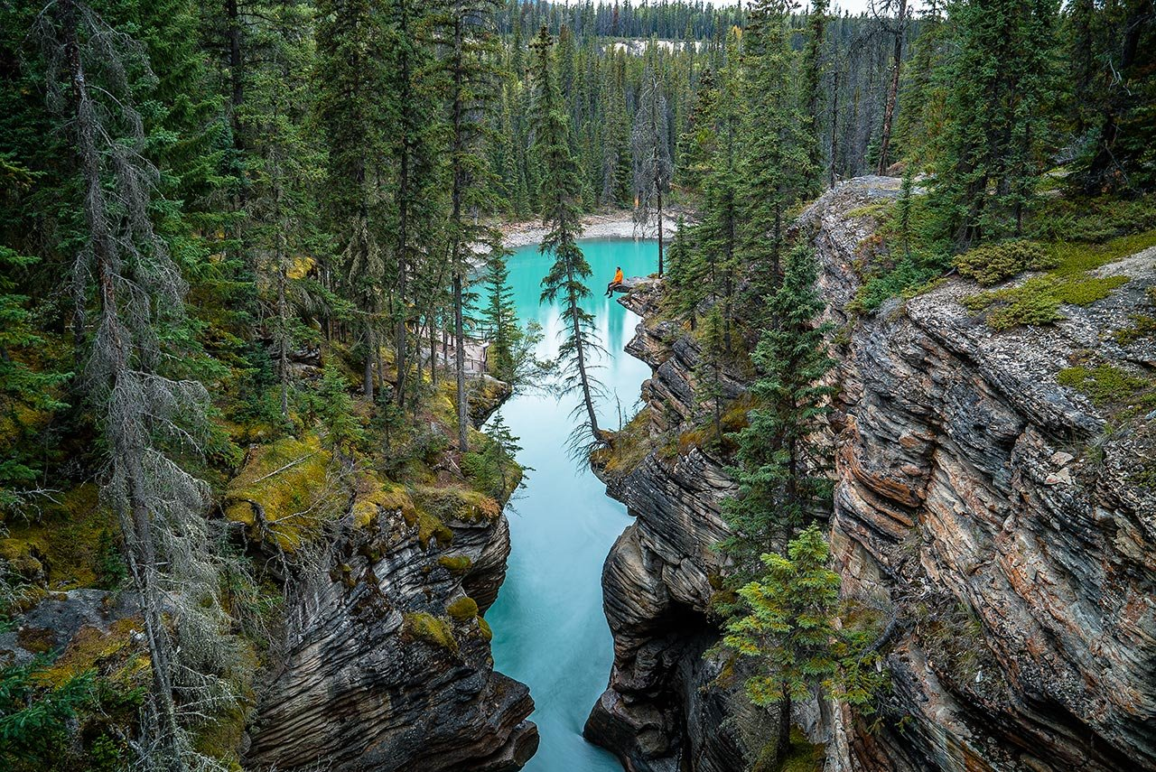 Jasper National Park, Canada. Photo by Chris Burkard, from 'The Great Wide Open', © Gestalten 2015.