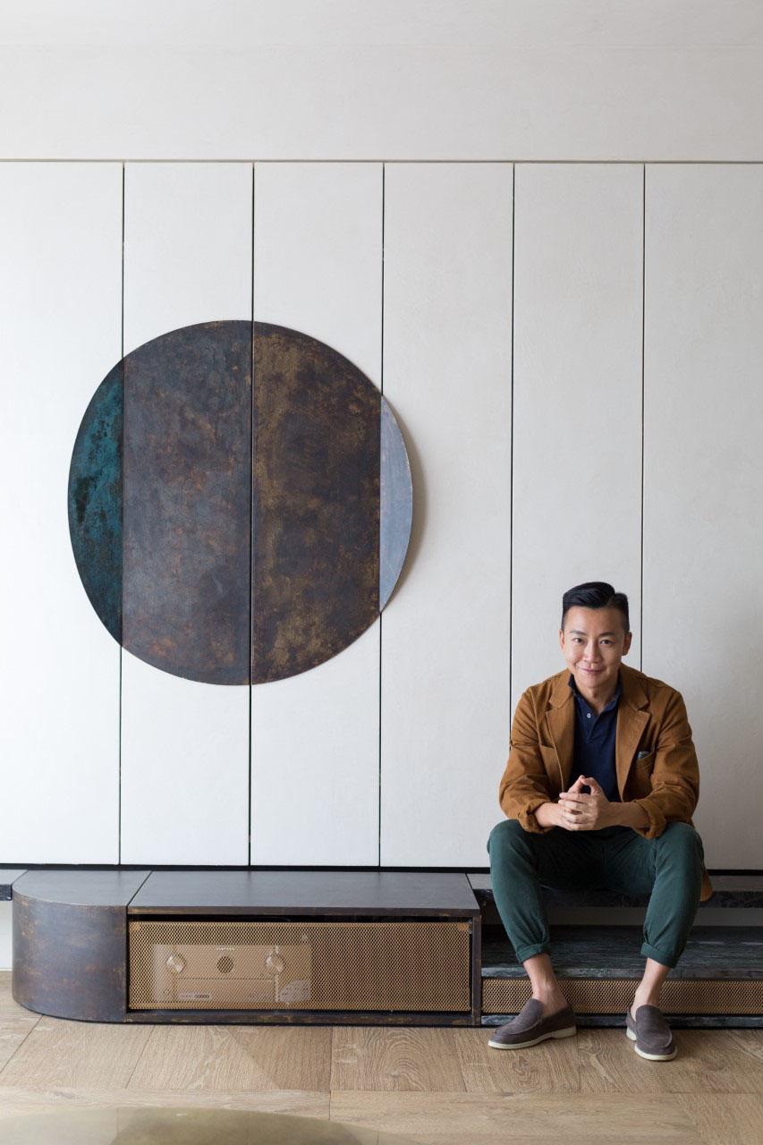Nelson Chow. Portraitby Harold De Puymorin.
