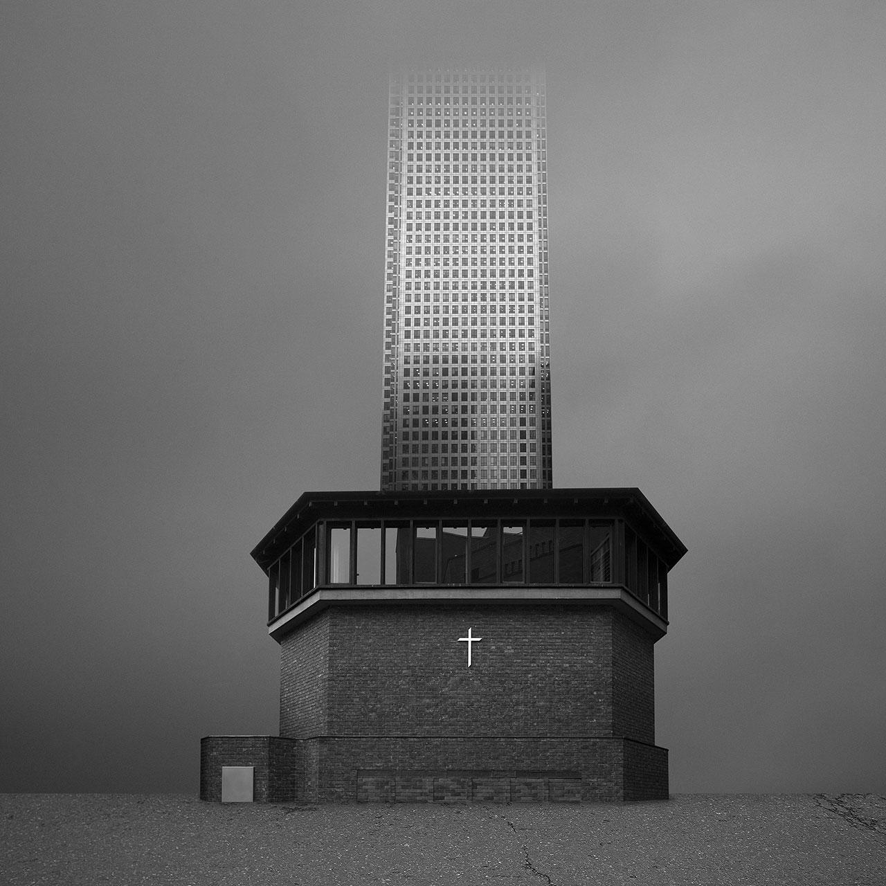 Beomsik Won,Archisculpture 005, 2011. Archival pigment print, 50x50cm.